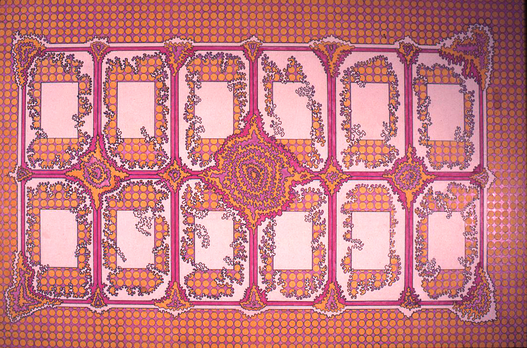 Drawing for carpet