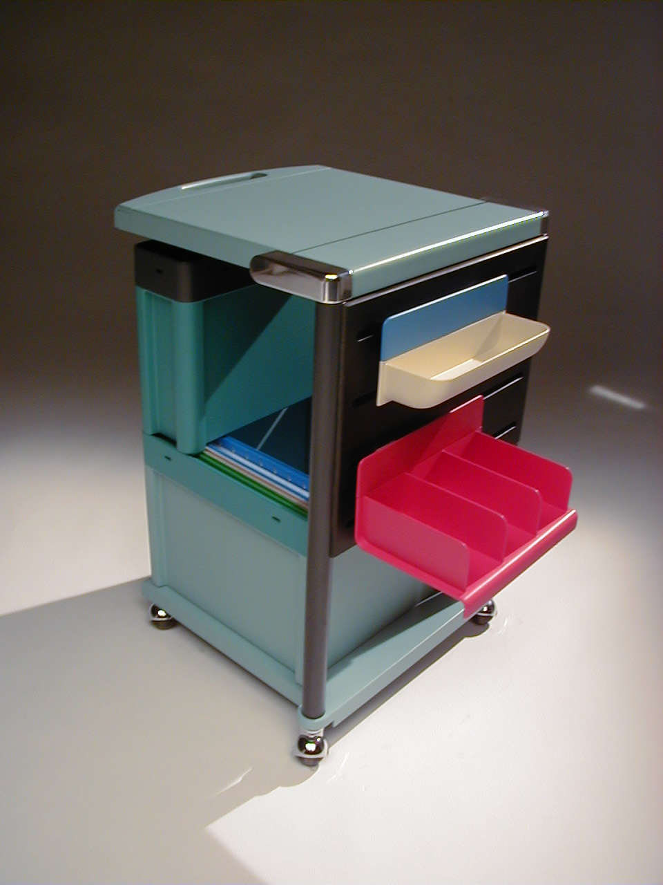 Office furniture, Mobile workspaces, Steelcase ,  2002