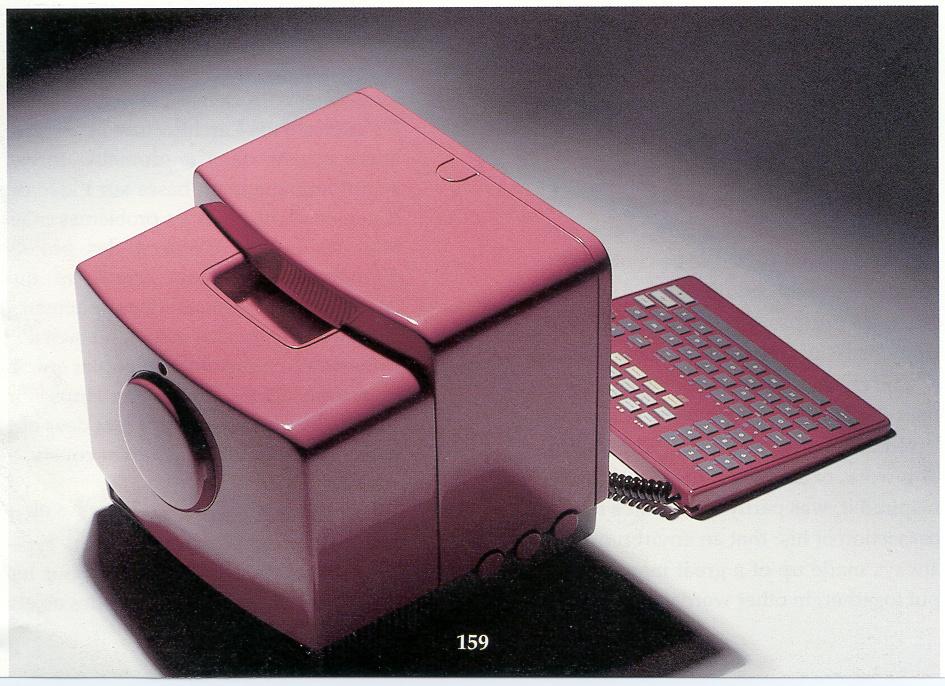 Prototype of minitel, 1989