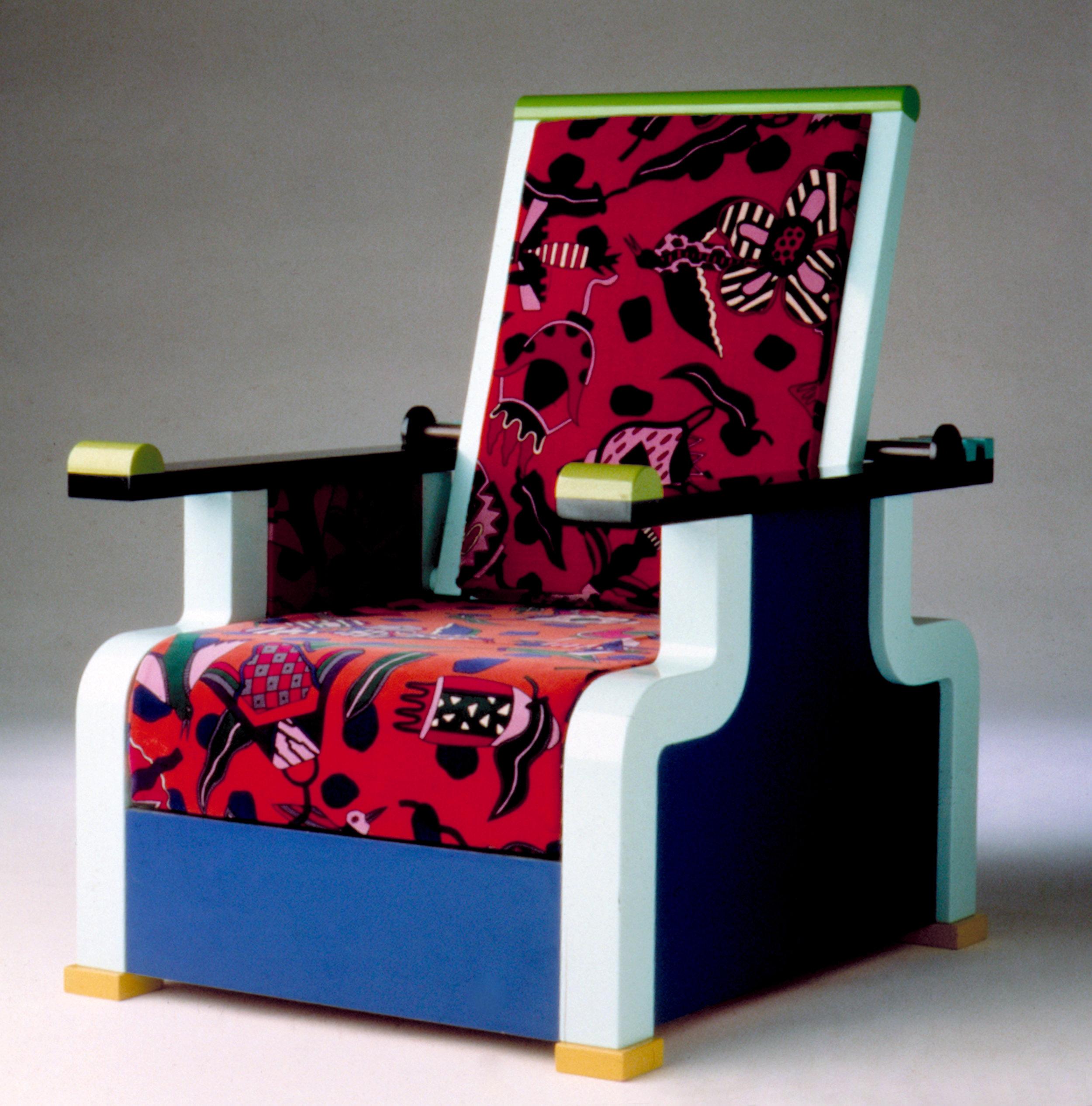 """Armchair """"Marmounia"""", Memphis, 1985"""