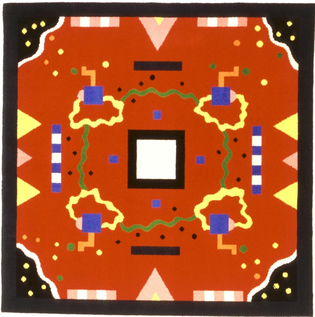 "Carpet ""India"", Palmisano, 1986"
