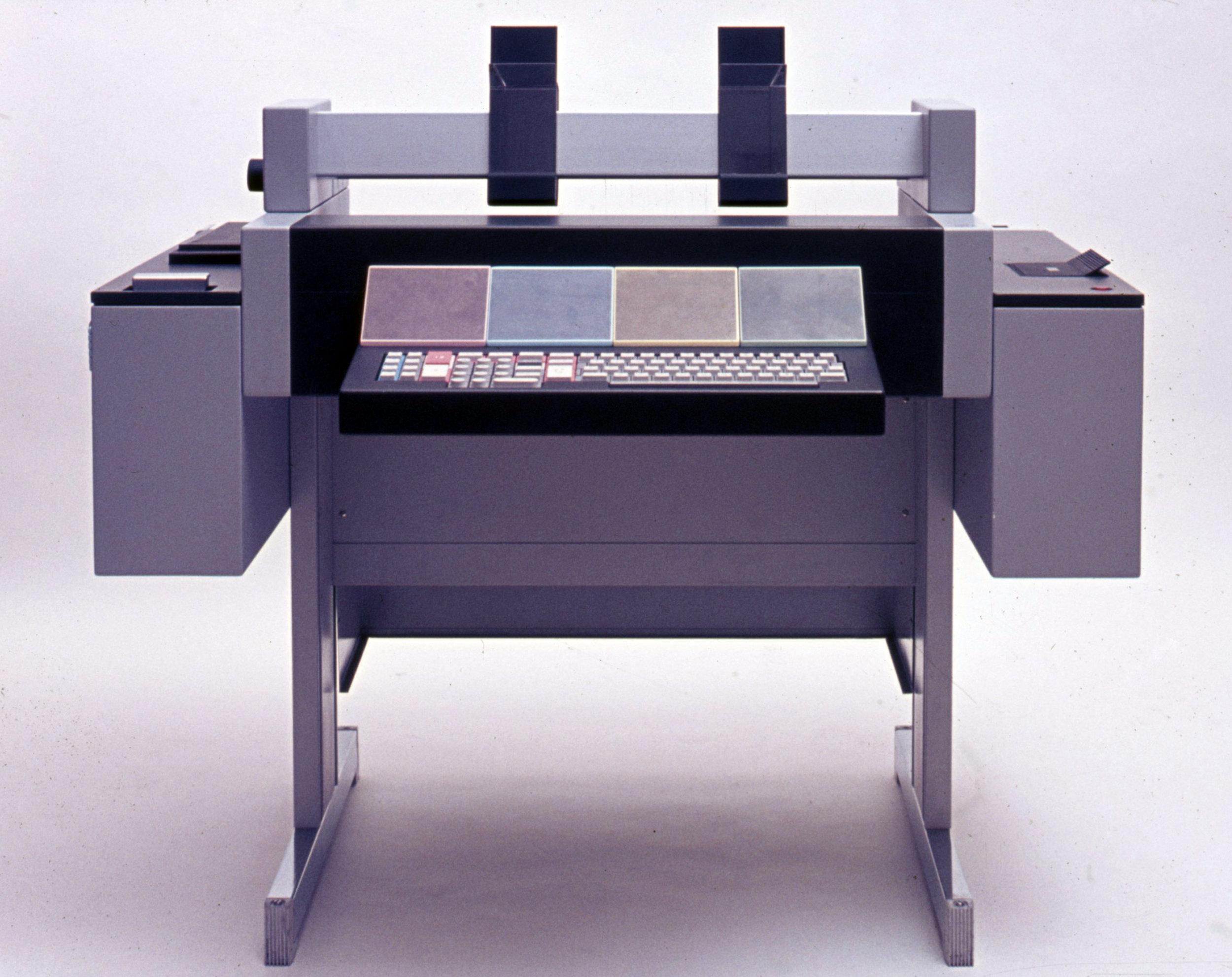 Study for teleprinter, Olivetti, 1972