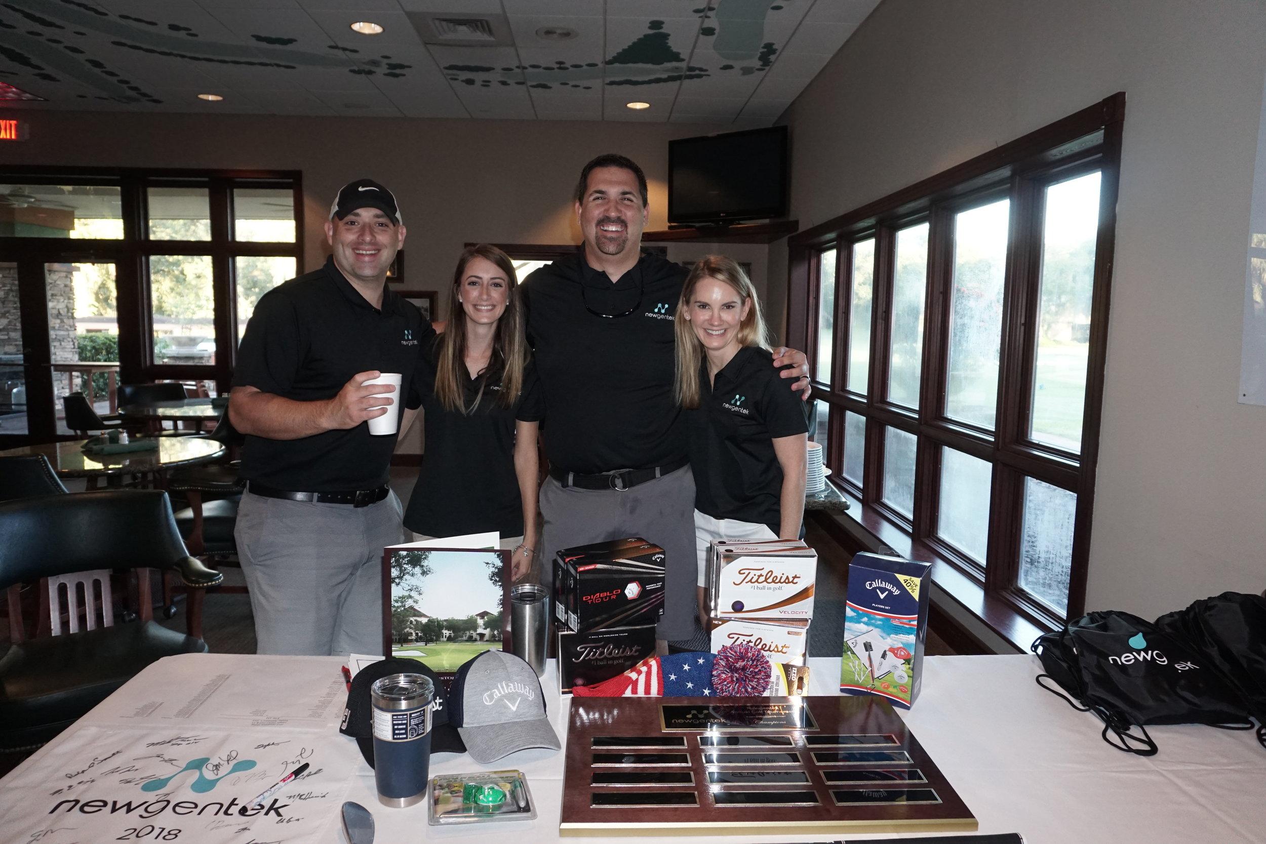 Newgentek Golf Tournament Planning Committee