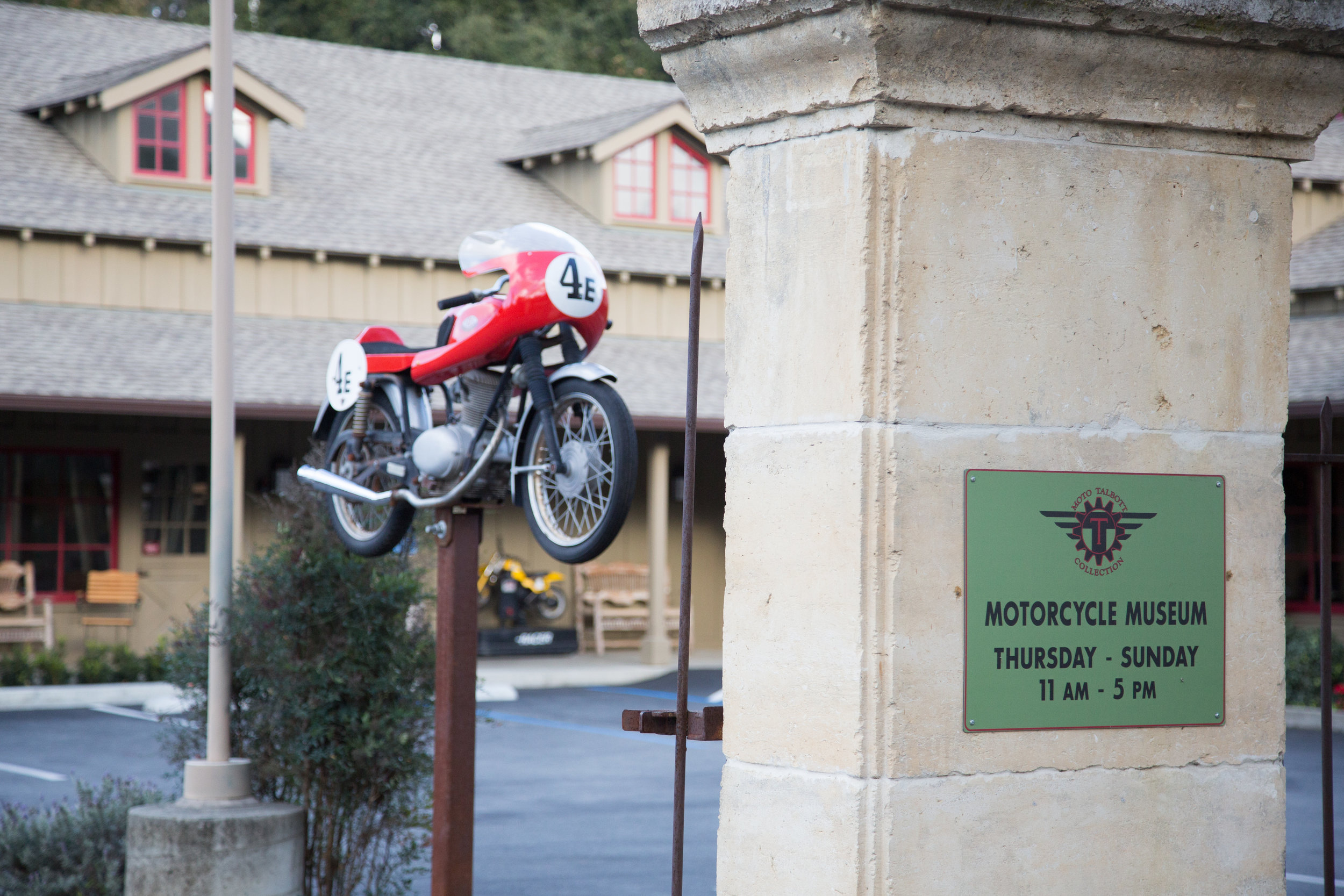 Moto Talbott Collection - Moto Talbott museum in Carmel, California, features more than 170 iconic motorcycles from 16 countries, and is located on one of Northern California's most beautiful motorcycle roads.