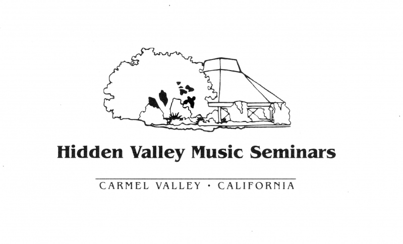 Hidden Valley Music Center - Hidden Valley Music Seminars was born out of a deep concern for the development of extraordinarily talented young artists.  Programs in the fields of music, theatre, opera and dance have occupied most of the time and energies of the staff and faculty since its inception in 1963.  Hidden Valley began in Southern California and was named for its first site in the Angeles National Forest.