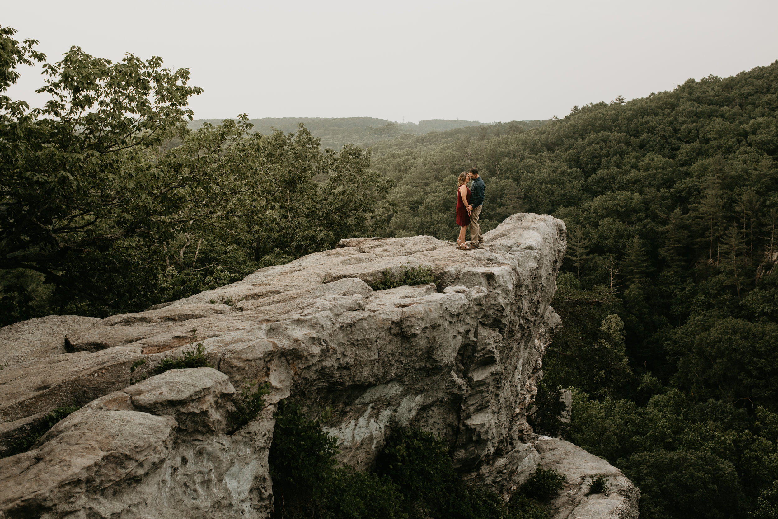 Nicole-Daacke-Photography-rock-state-park-overlook-king-queen-seat-maryland-hiking-adventure-engagement-session-photos-portraits-summer-bel-air-dog-engagement-session-28.jpg