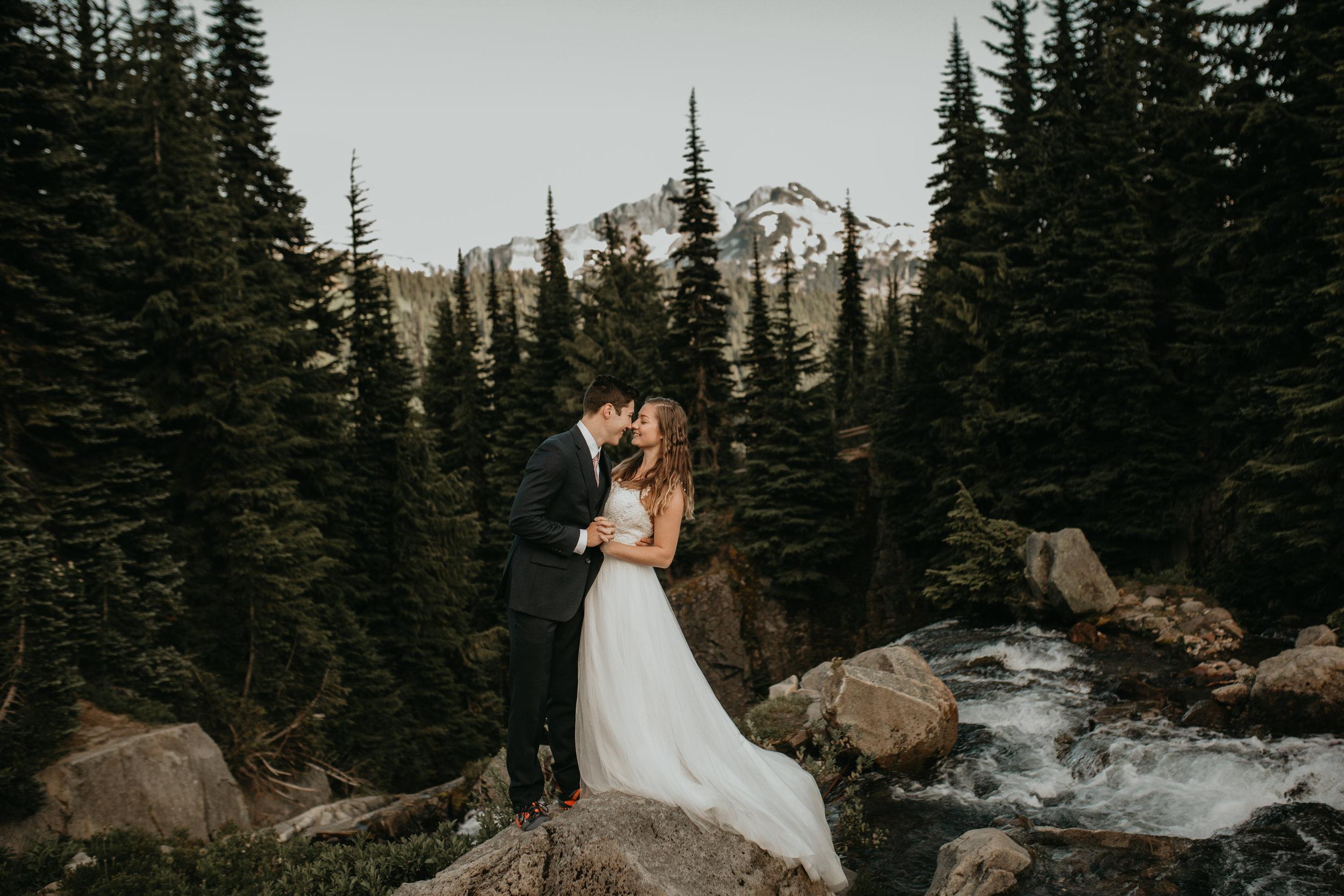 Nicole-Daacke-Photography-Mt-Rainier-elopement-photographer-washington-mountain-epic-wedding-photography-wildflowers-at-rainier-pine-tree-cloudy-summer-day-at-mountain-rainier-16.jpg
