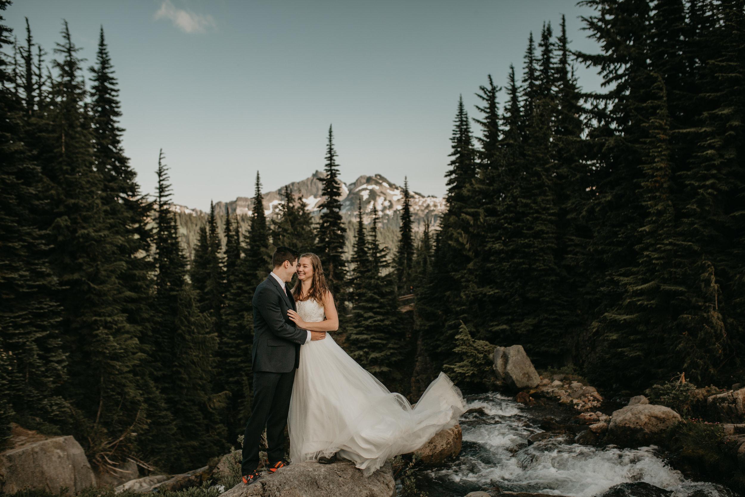 Nicole-Daacke-Photography-Mt-Rainier-elopement-photographer-washington-mountain-epic-wedding-photography-wildflowers-at-rainier-pine-tree-cloudy-summer-day-at-mountain-rainier-17.jpg