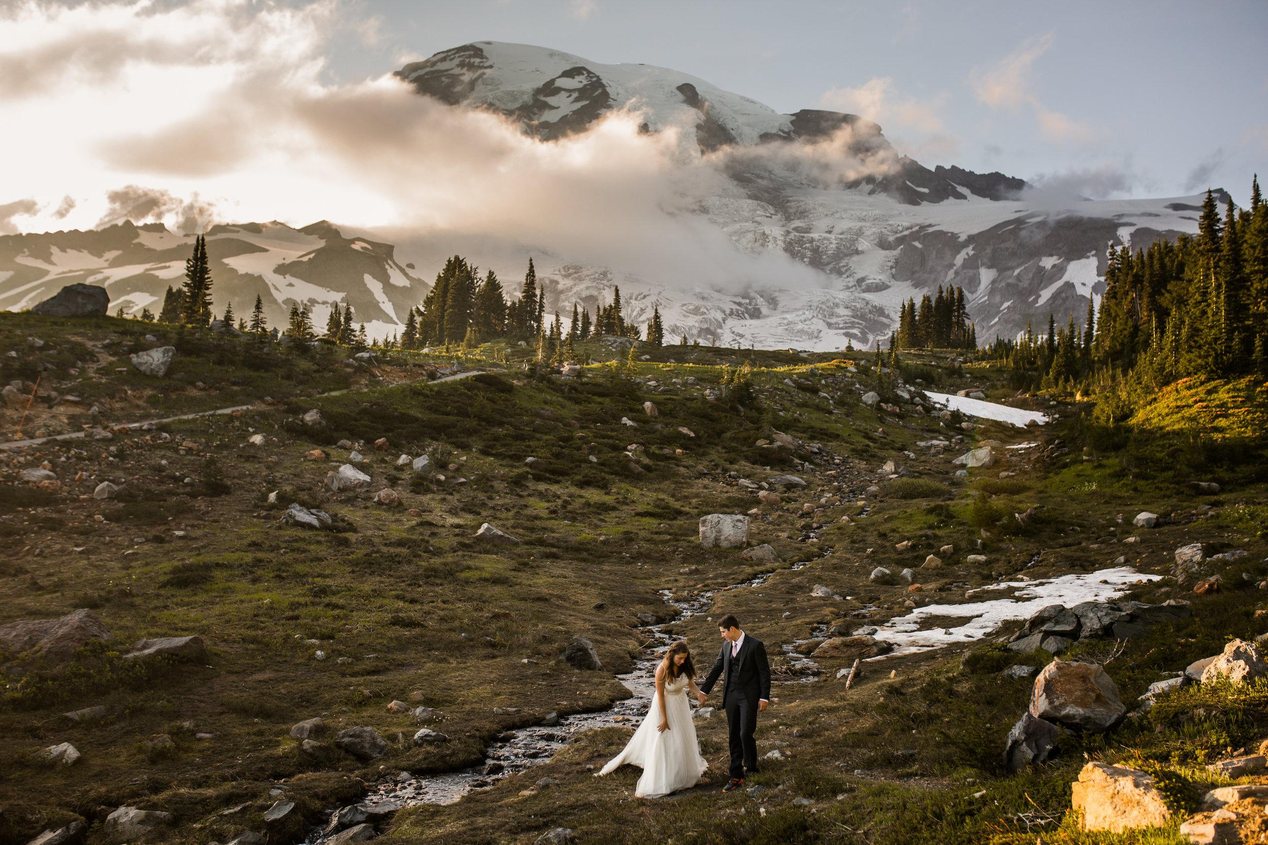 Nicole-Daacke-Photography-Mt-Rainier-elopement-photographer-washington-mountain-epic-wedding-photography-wildflowers-at-rainier-pine-tree-cloudy-summer-day-at-mountain-rainier-37.jpg