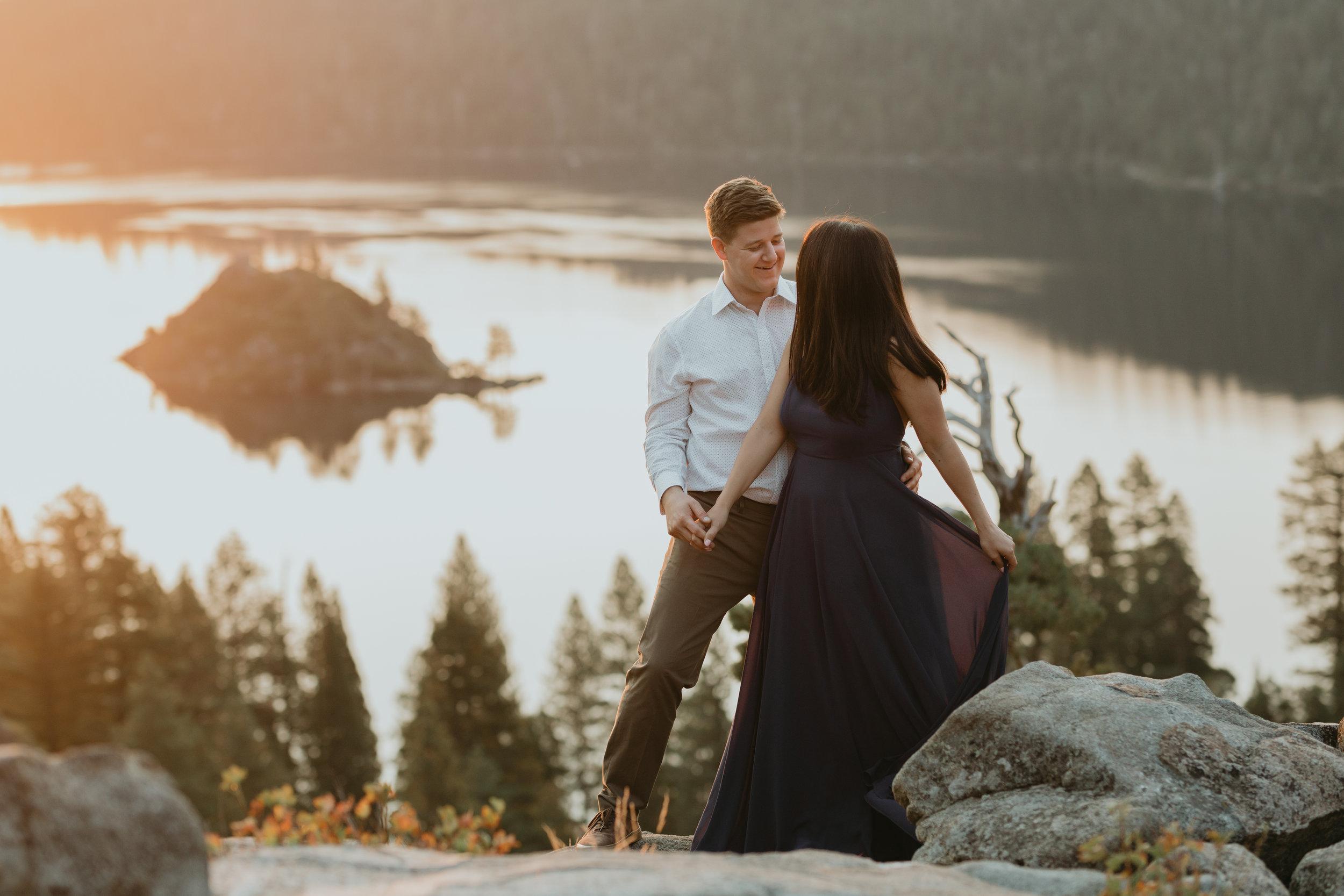 nicole-daacke-photography-lake-tahoe-sunrise-summer-adventure-engagement-photos-nevada-wedding-elopement-photographer-golden-emerald-bay-light-pine-trees-summer-vibe-fun-carefree-authentic-love-16.jpg