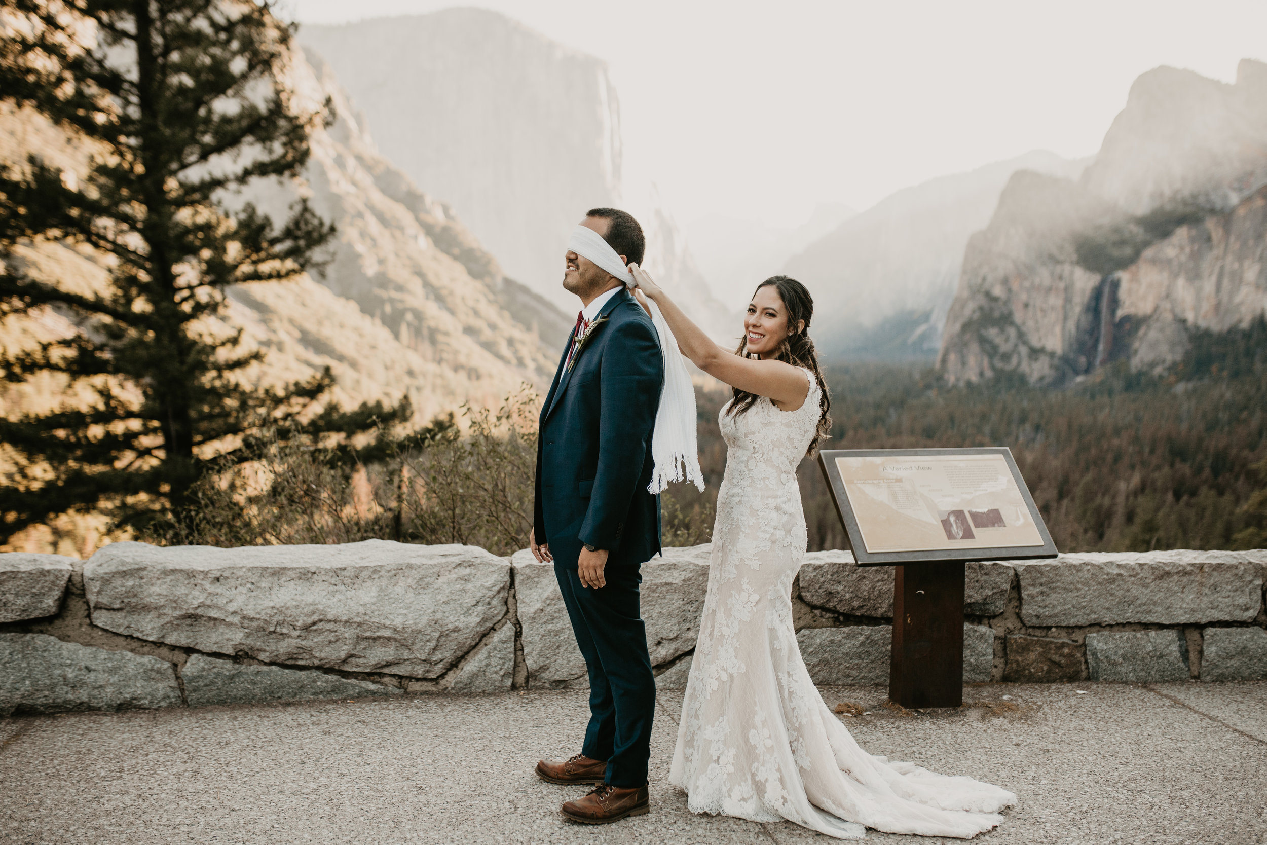 nicole-daacke-photography-intimate-elopement-wedding-yosemite-national-park-california-taft-point-sunset-photos-yosemite-valley-tunnel-view-first-look-sunrise-golden-granite-hiking-adventure-wedding-adventurous-elopement-photographer-2.jpg