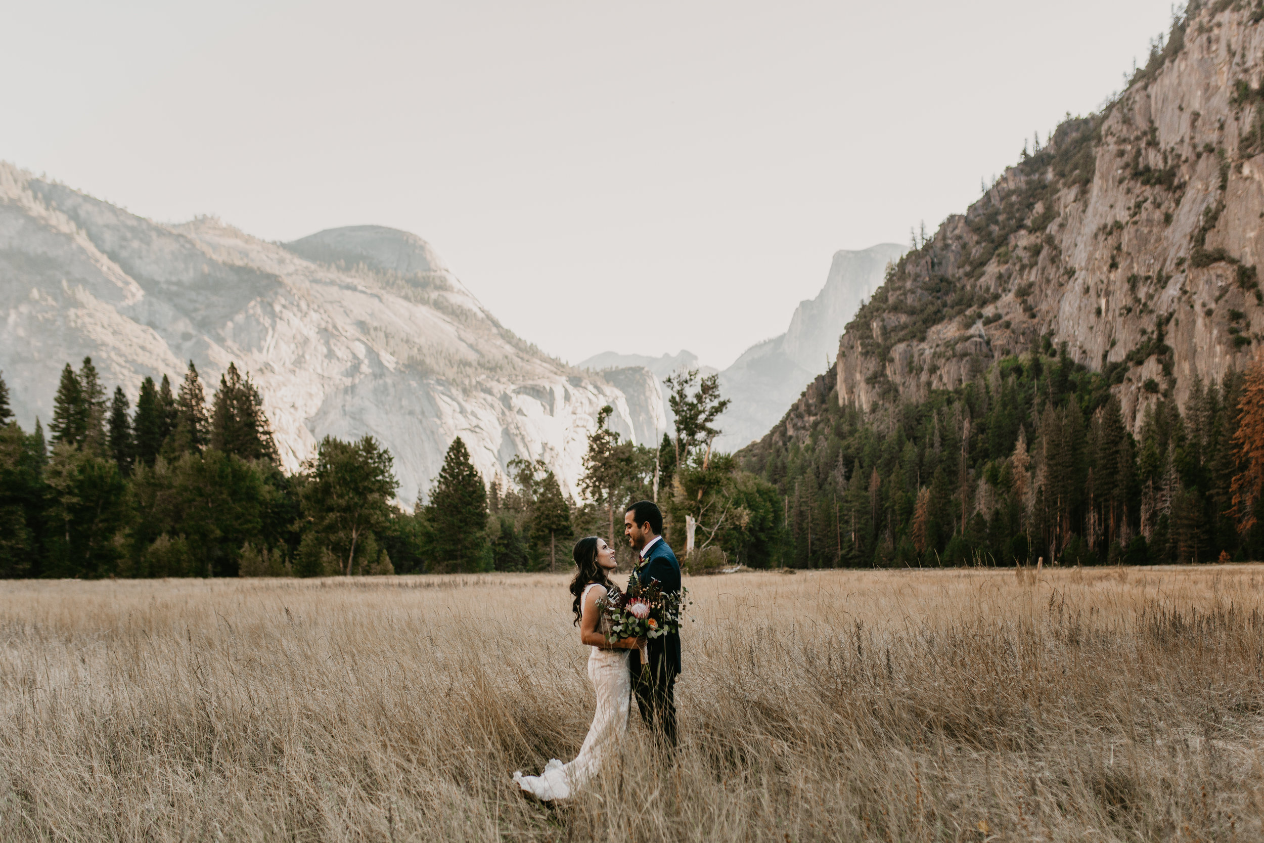 nicole-daacke-photography-intimate-elopement-wedding-yosemite-national-park-california-taft-point-sunset-photos-yosemite-valley-tunnel-view-first-look-sunrise-golden-granite-hiking-adventure-wedding-adventurous-elopement-photographer-8.jpg