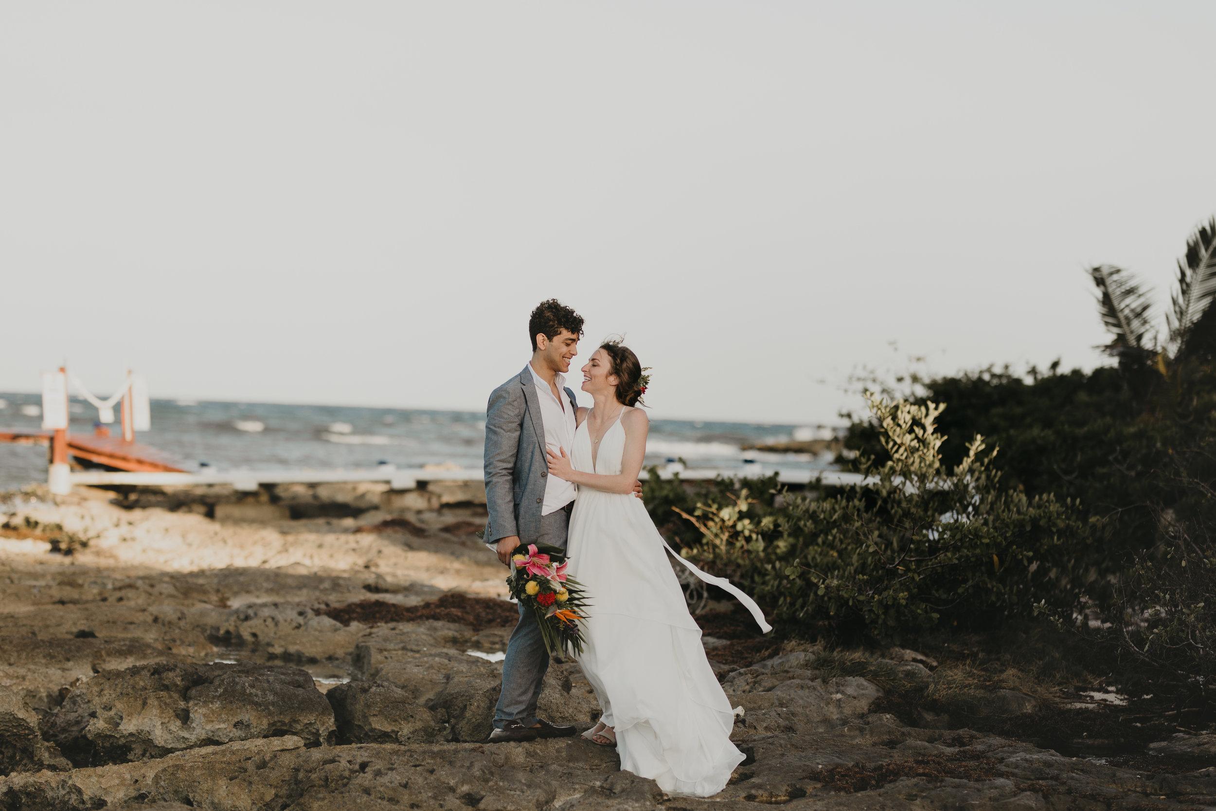 Nicole-Daacke-Photography-beachfront-akumal-destionation-wedding-tulum-mexico-elopement-photographer-destination-wedding-inspiration-sunset-champagne-pop-boho-bride-ocean-tropical-bohemian-tulum-wedding-photos-182.jpg
