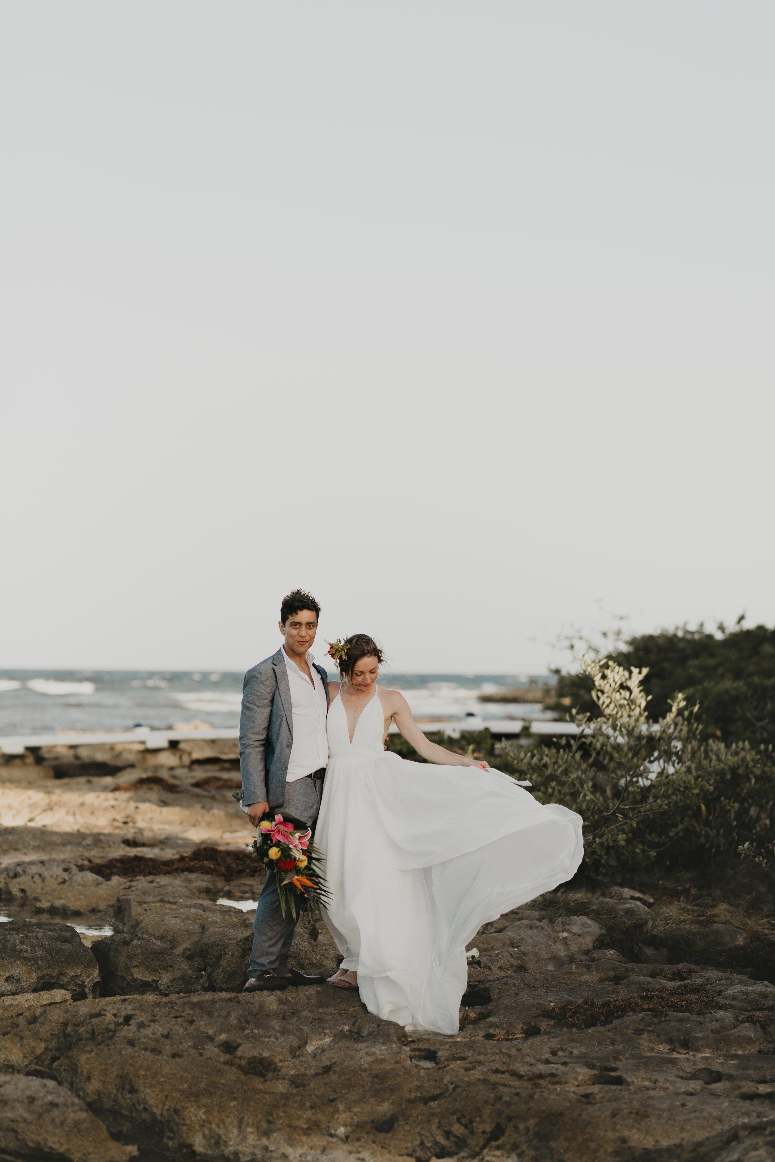 Nicole-Daacke-Photography-beachfront-akumal-destionation-wedding-tulum-mexico-elopement-photographer-destination-wedding-inspiration-sunset-champagne-pop-boho-bride-ocean-tropical-bohemian-tulum-wedding-photos-184.jpg
