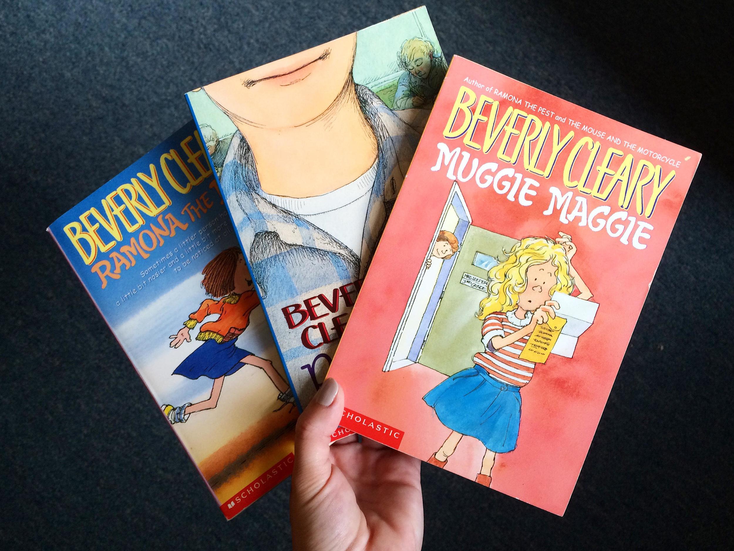 Beverly Cleary Books.jpg