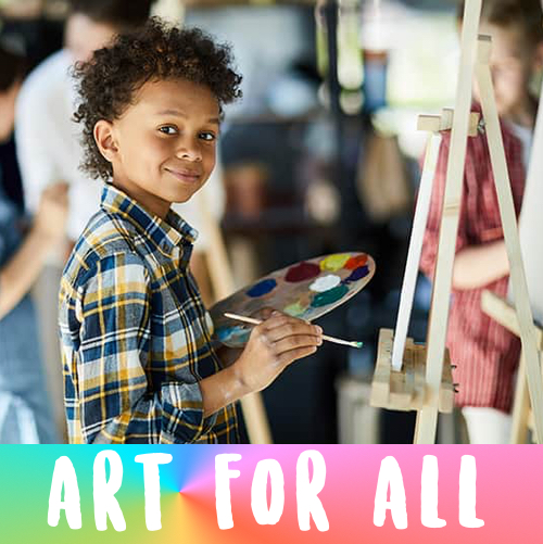 "Keep Rochester Students Creating - Summer 2019 will be the inaugural year for our Art for All program through which talented student artists will have the opportunity to attend summer art programs and lessons. This summer, city art educators will nominate their first class of recipients with a goal of providing 15 students with lessons at the Memorial Art Gallery.Contributors of $25 will receive a free ""Arts and Crafts"" t-shirt while supplies last."