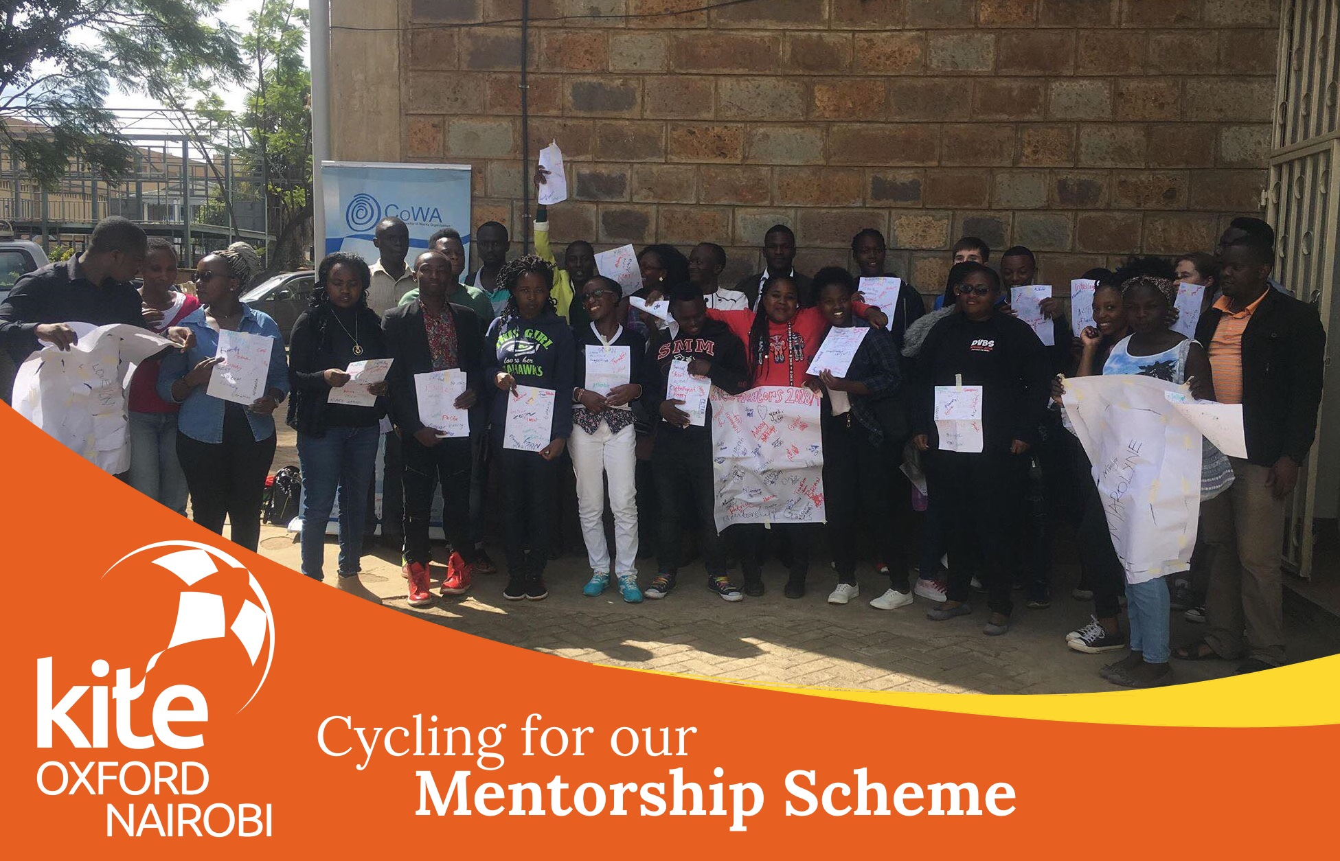 We are very excited to launch our fundraising challenge to raise money for the Oxford-Nairobi mentorship scheme - Cycle to Nairobi! Between the committee we will be cycling or walking the distance from Oxford to Nairobi in 5 weeks! We start on 18th February and by 31st March we will have travelled 4,284.40 miles collectively with each committee member cycling, running or hiking part of the distance. Bridging the distance between Oxford and Nairobi we are celebrating and raising money for the launch of our first collaborative pilot project!  Our new mentorship scheme is a joint project by Kite Oxford and Kite Nairobi which was launched in January. It aims to reduce the rate of dropouts in high schools, develop pupils' entrepreneurial skills, and bring awareness of vocational training opportunities to students from disadvantaged backgrounds in Kenya. The scheme will utilise university student mentors who have been trained to act as enthusiastic and able role models for high school age mentees and who will provide them with effective careers and skills development support in one-on-one sessions, group activity sessions as well as special activities. You can find out more about our mentorship scheme on our project page.   Please donate here:  https://www.goldengiving.com/fundraising-team/cycletonairobi