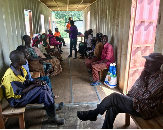 Focus Group with Guardians in Musanda