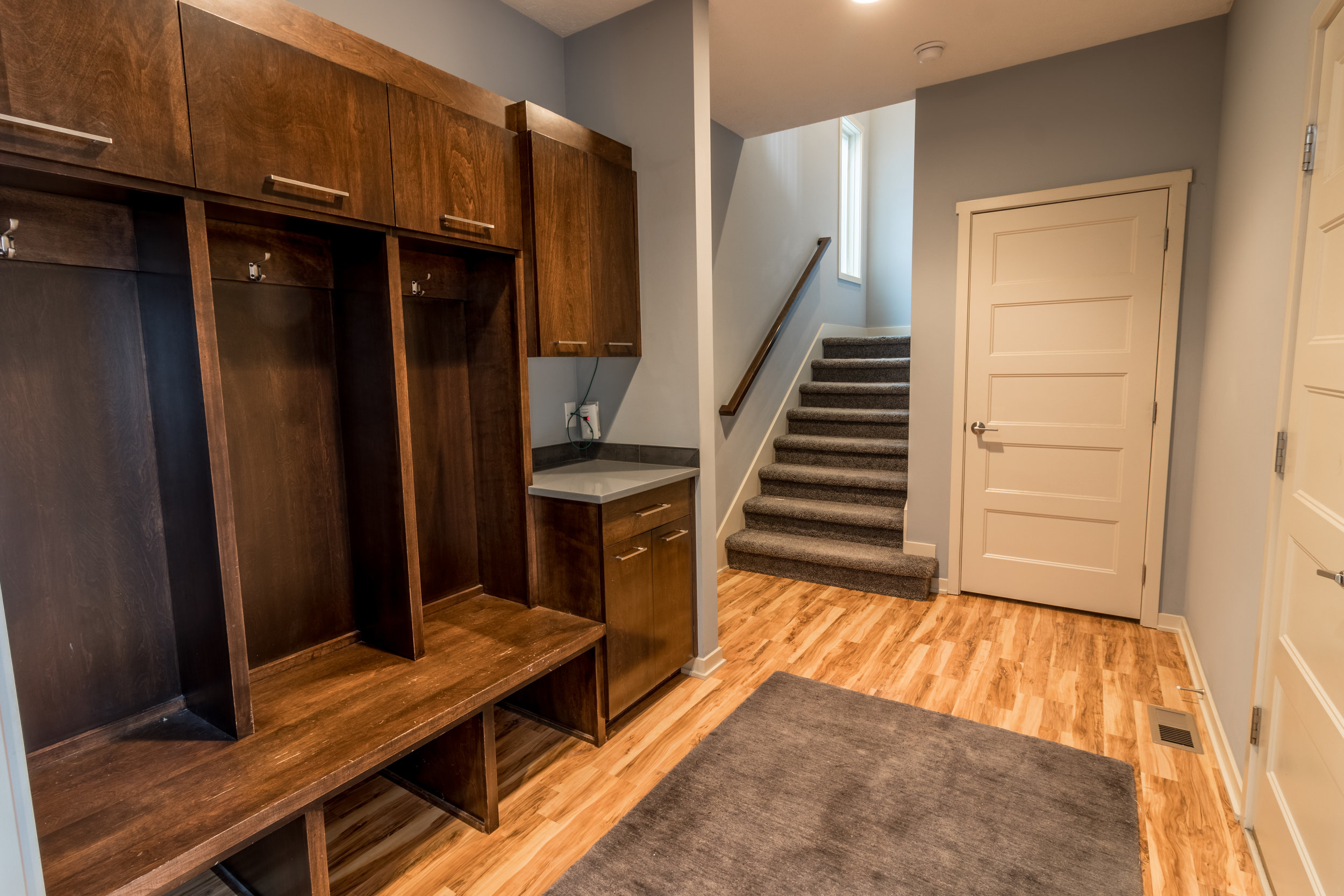 Lockers in Home