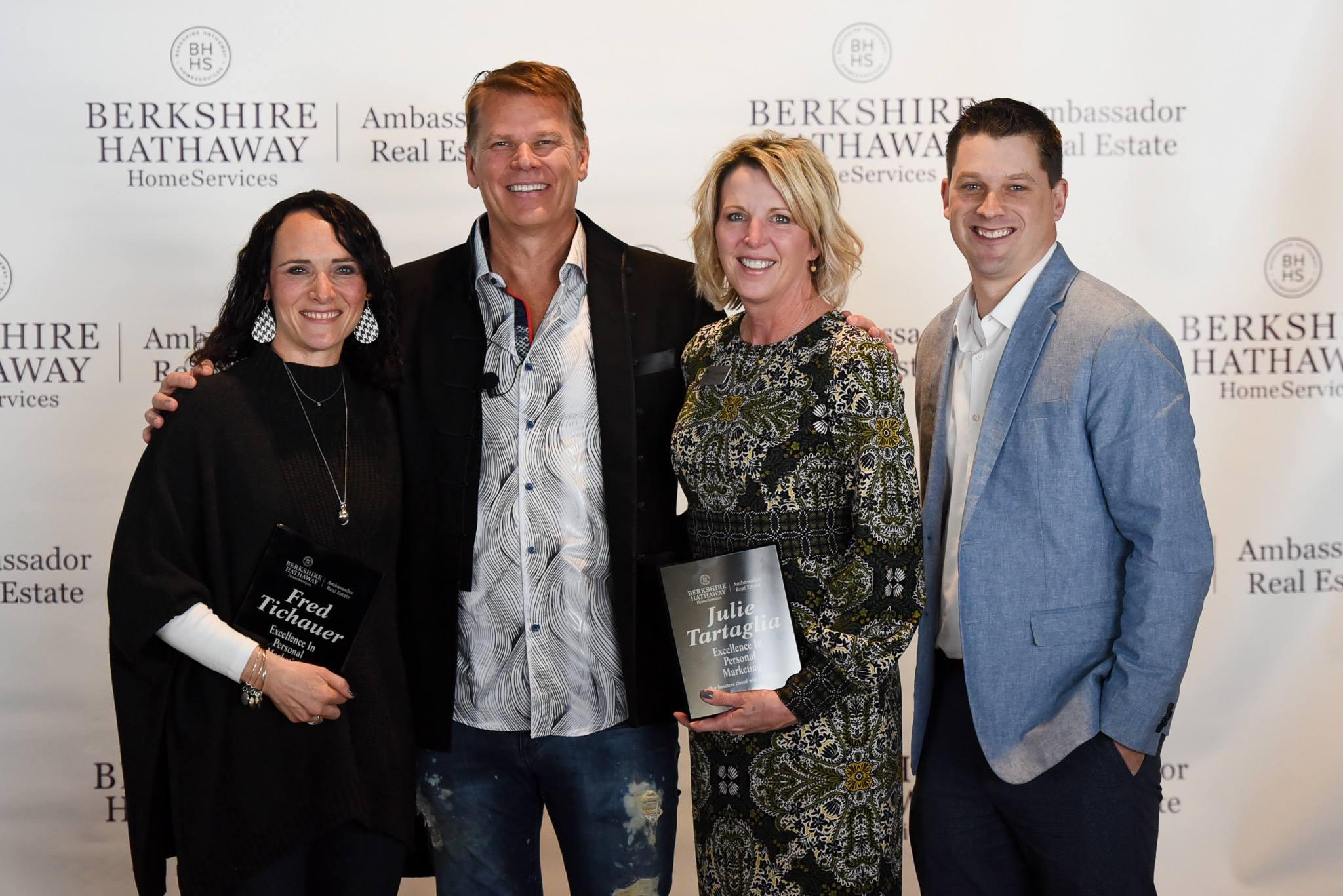 Berkshire Hathaway Home Services Ambassador Real Estate Awards Ceremony