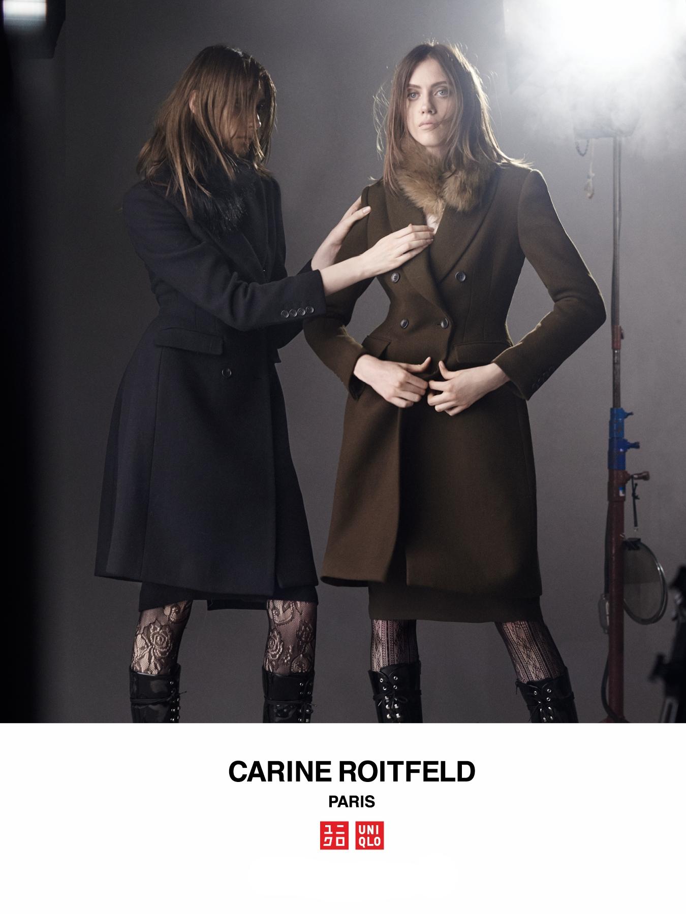 #uniqlo #carineroitfeld #stevenmeisel #fw16 #fashion #campaign #liapavlova #odettepavlova #jimkaemmerling #patmcgrath #guidopalau
