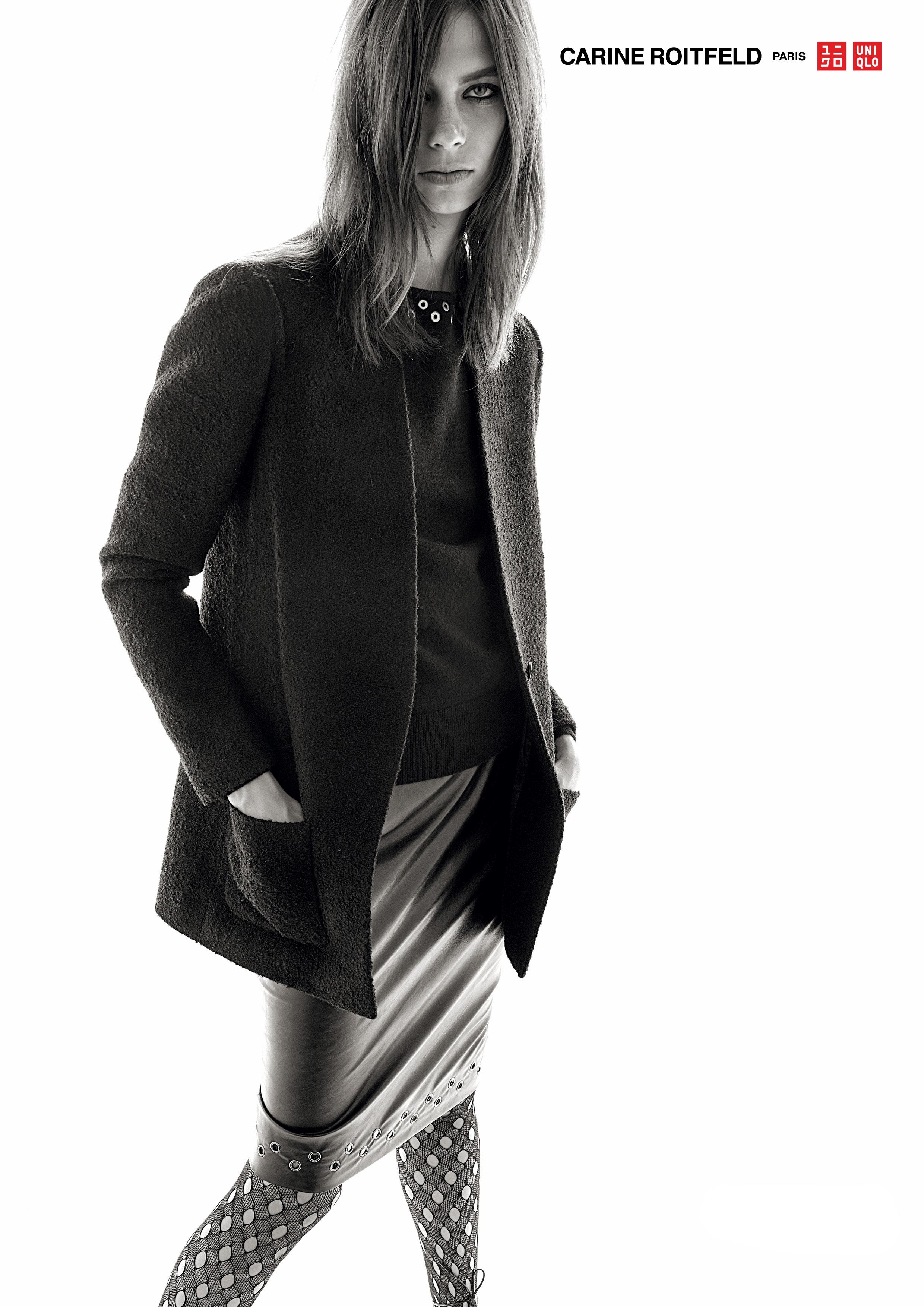 #uniqlo #carineroitfeld #stevenmeisel #fw15 #fashion #campaign #lexiboling #jimkaemmerling #patmcgrath #guidopalau