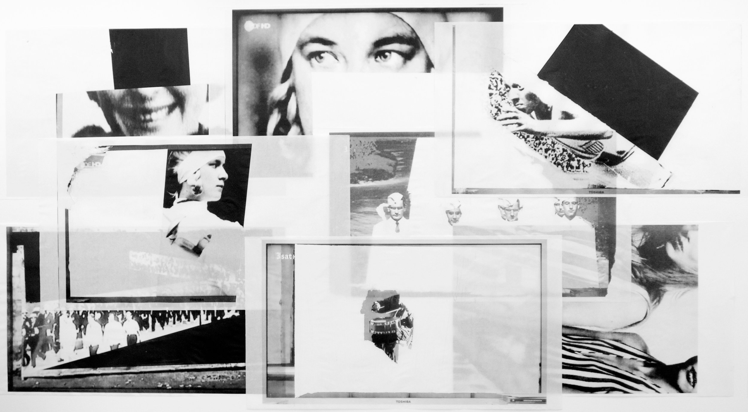HELENE LENI JESSE 2017 Bildinstallation, 8-teilig, 270 x 650 cm | Acryl und Digitalprint mit UV-aushärtnder Tinte auf Muji-Papier 50 g | Auflage 1/3, Ankauf Kunsthaus Grenchen | MAMO Maryna Markova, Berlin und Jörg Mollet, Solothurn