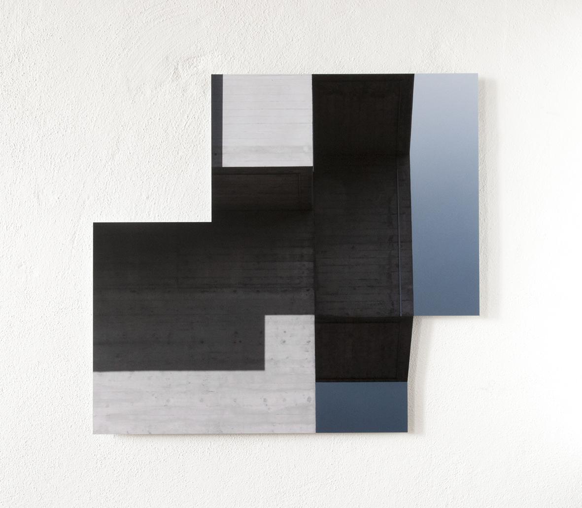 form 01, 2018 |Pigment Print auf Aludibond |78 x 84 cm