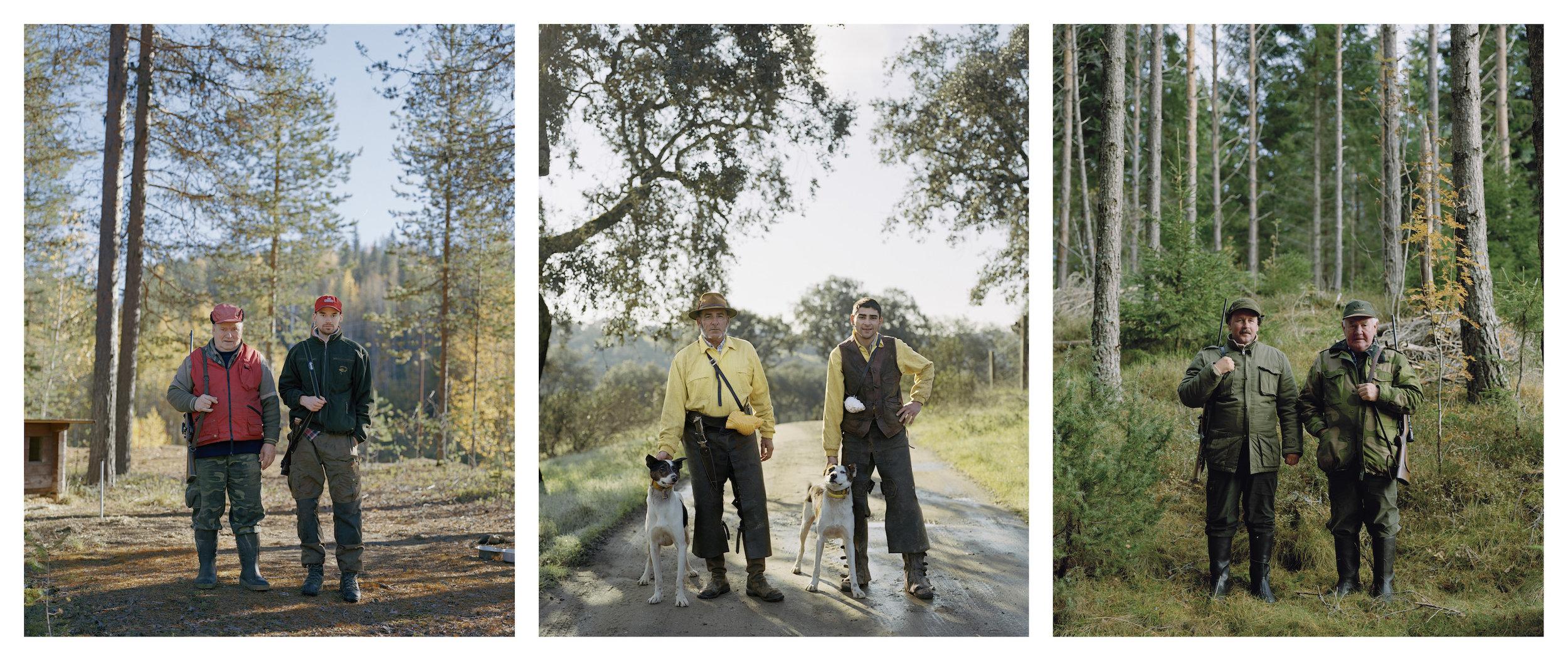 Bilder: Michael Tummings  Triptych  Halden VI (2009) / Cabalgaderos I (2011) / Pelo III (2010) 42 x 36 cm (each) Archival pigment print Unique (exhibition prints)