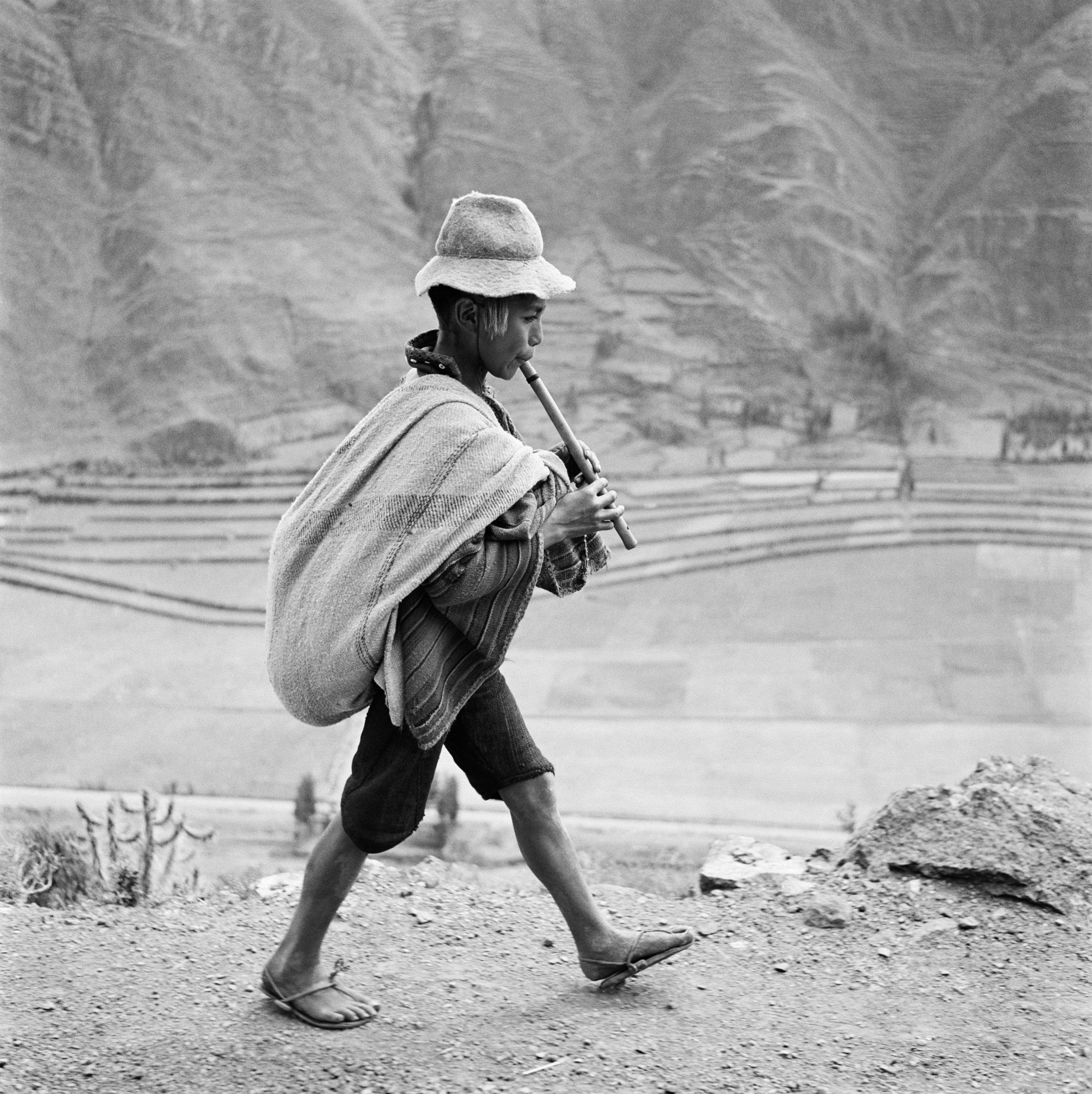 Auf dem Weg nach Cuzco, Valle Sagrado, Peru 1954 © Werner Bischof / Magnum Photos