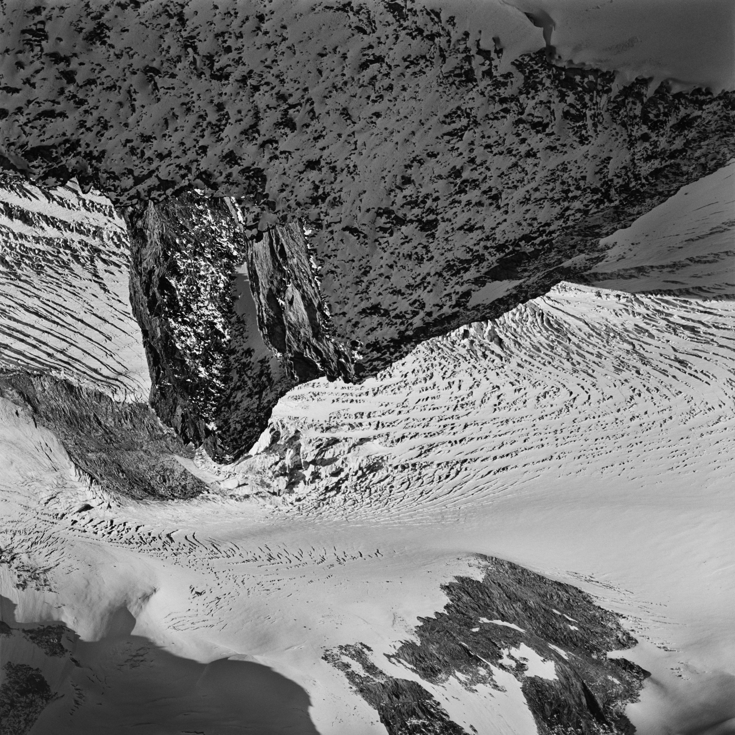 Vertigo. Galmiggletscher, Wallis, 19.10.2014