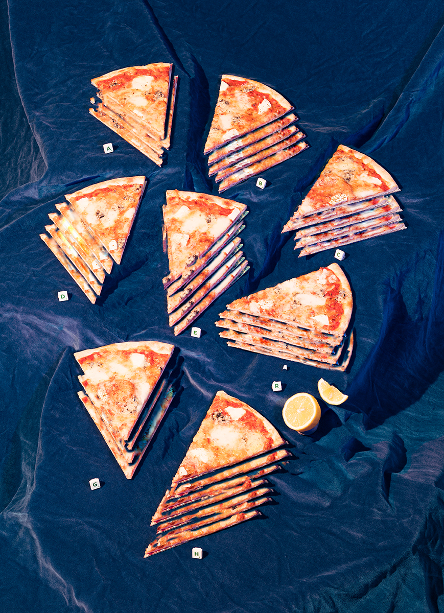 We Went To That Pizza Place Display Was Not Exaggerating! (Marine Biology, Ocean Still Life/Spoof: Unlikely), 2018 | © Thomas Albdorf