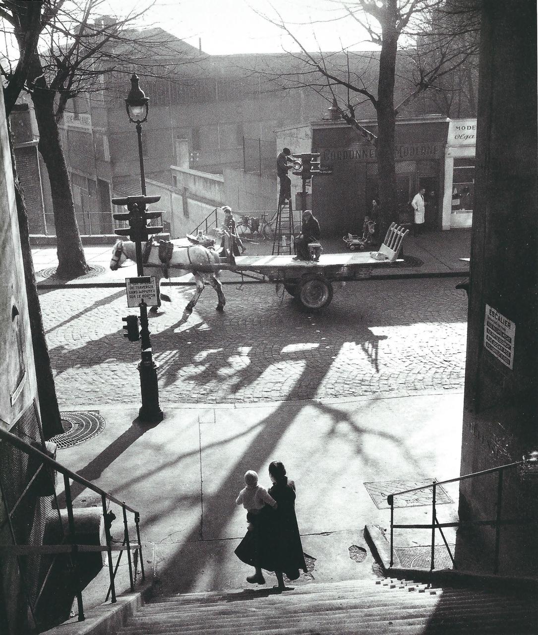 Avenue Simon Bolívar Paris, 1950 | Willy Ronis | courtesy: in focus Galerie, Köln