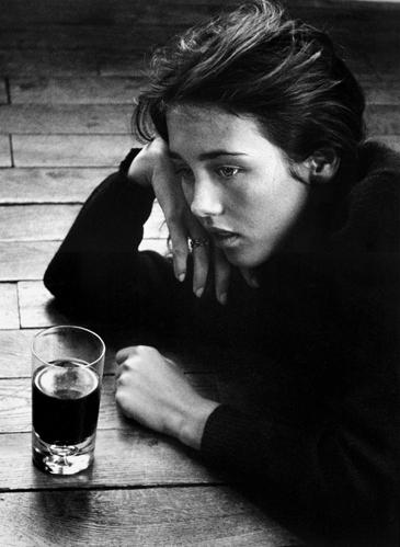 «18 ans et gros rhume des foins Isabelle Adjani» ©Anny Duperey