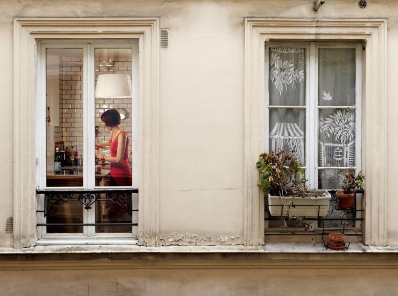 Rue Jouye Rouve, Paris, 20e, le 18 mai, 2013