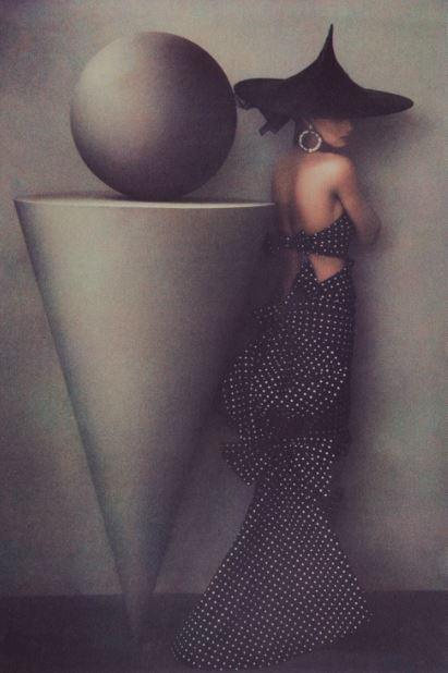 © Sheila Metzner. Uma. Patou Dress. 1986