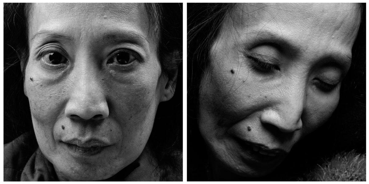 Maria Hai-Anh Tuyet, 2003, aus der Serie »Noch mal leben« | je 100 x 100 cm, Pigment-Print | © Walter Schels