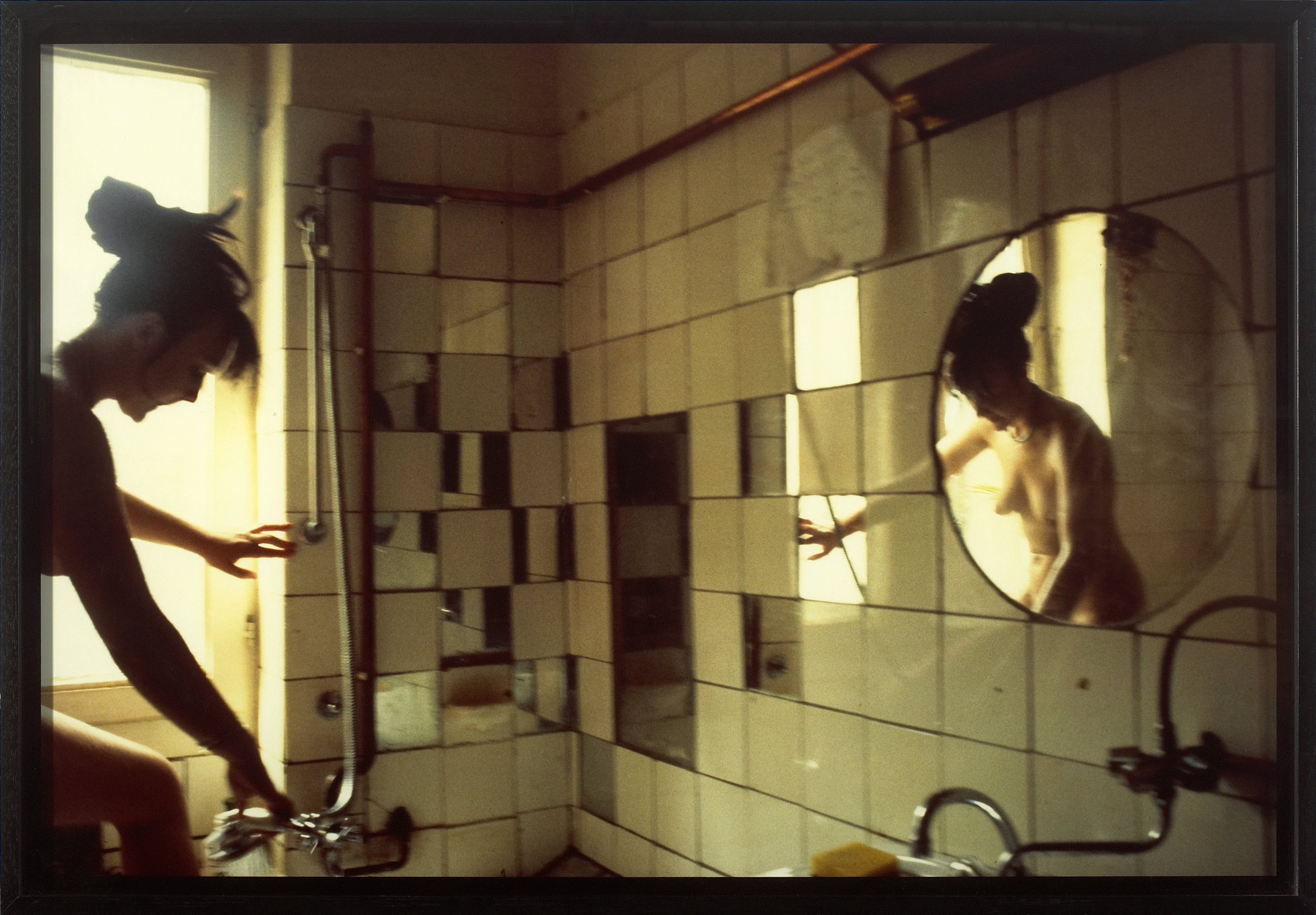 Käthe in the tub West Berlin 1984 Nan Goldin © Remi Villaggi