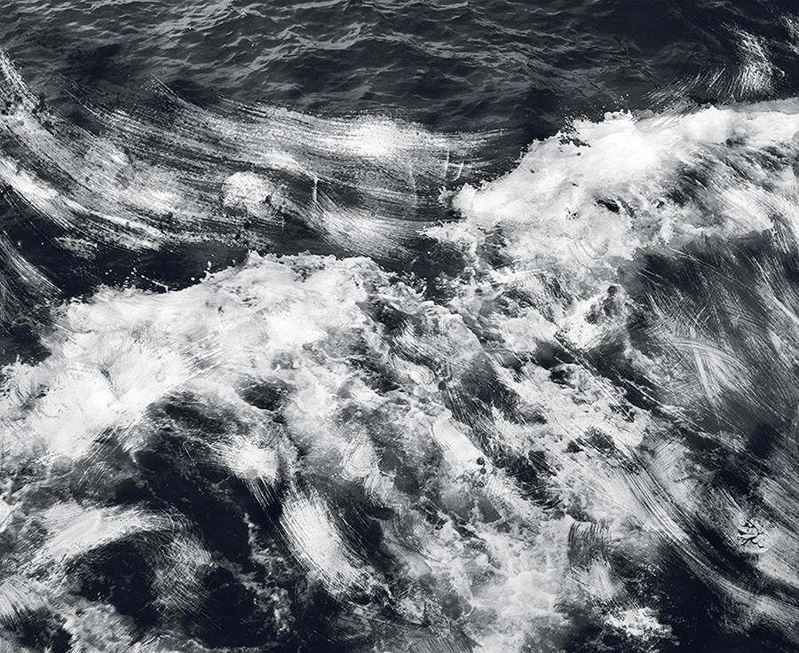 ©Douglas Mandry, Ecume (Frottage/Rubbing), 2013, Archival Pigment Print, 51 x 62.3 cm, Edition 3 & 2 AP