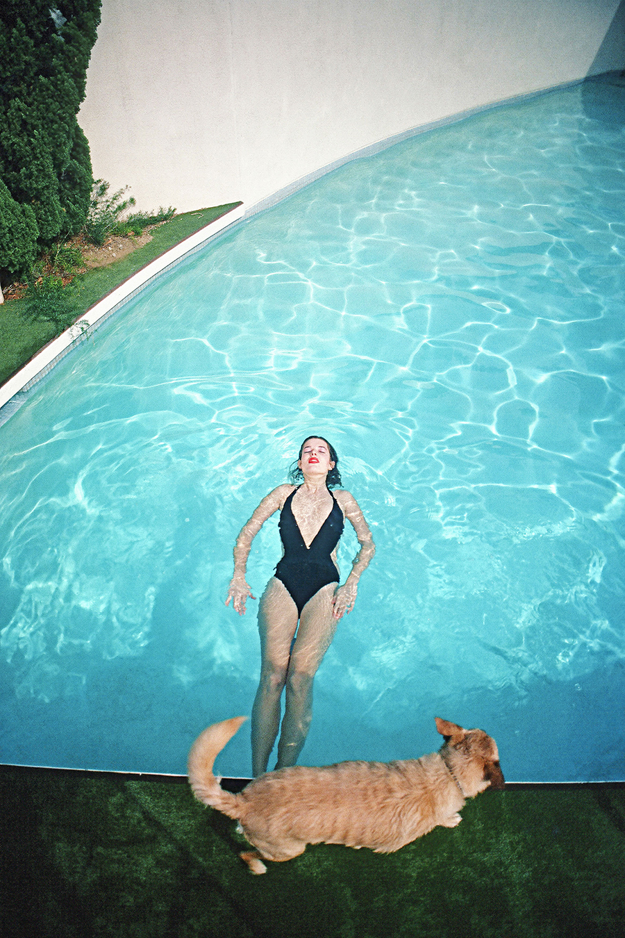 ©Willy Spiller, Swimming Cindy, Los Angeles, 1977-1985, Archival Pigment Print, 65 x 47 cm, Edition 5 & 2 AP