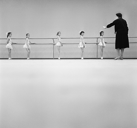 Young ballet dancers | Vladimir Lagrange, 1962
