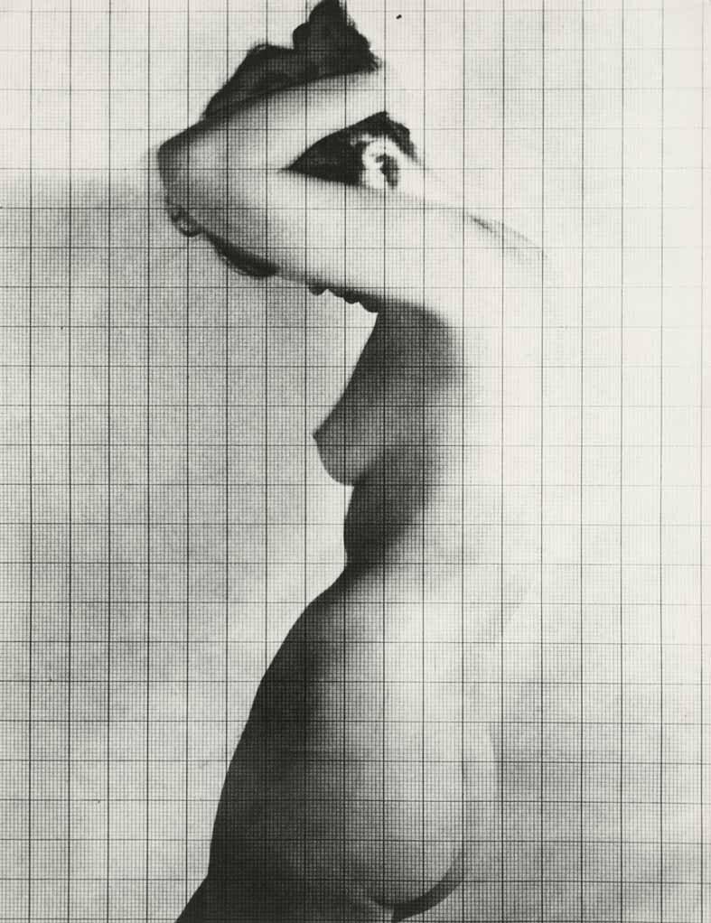 Nude Under Grid, New York, 1950 | copyright 2019 The Estate of Erwin Blumenfeld | courtesy Howard Greenberg Gallery, NYC