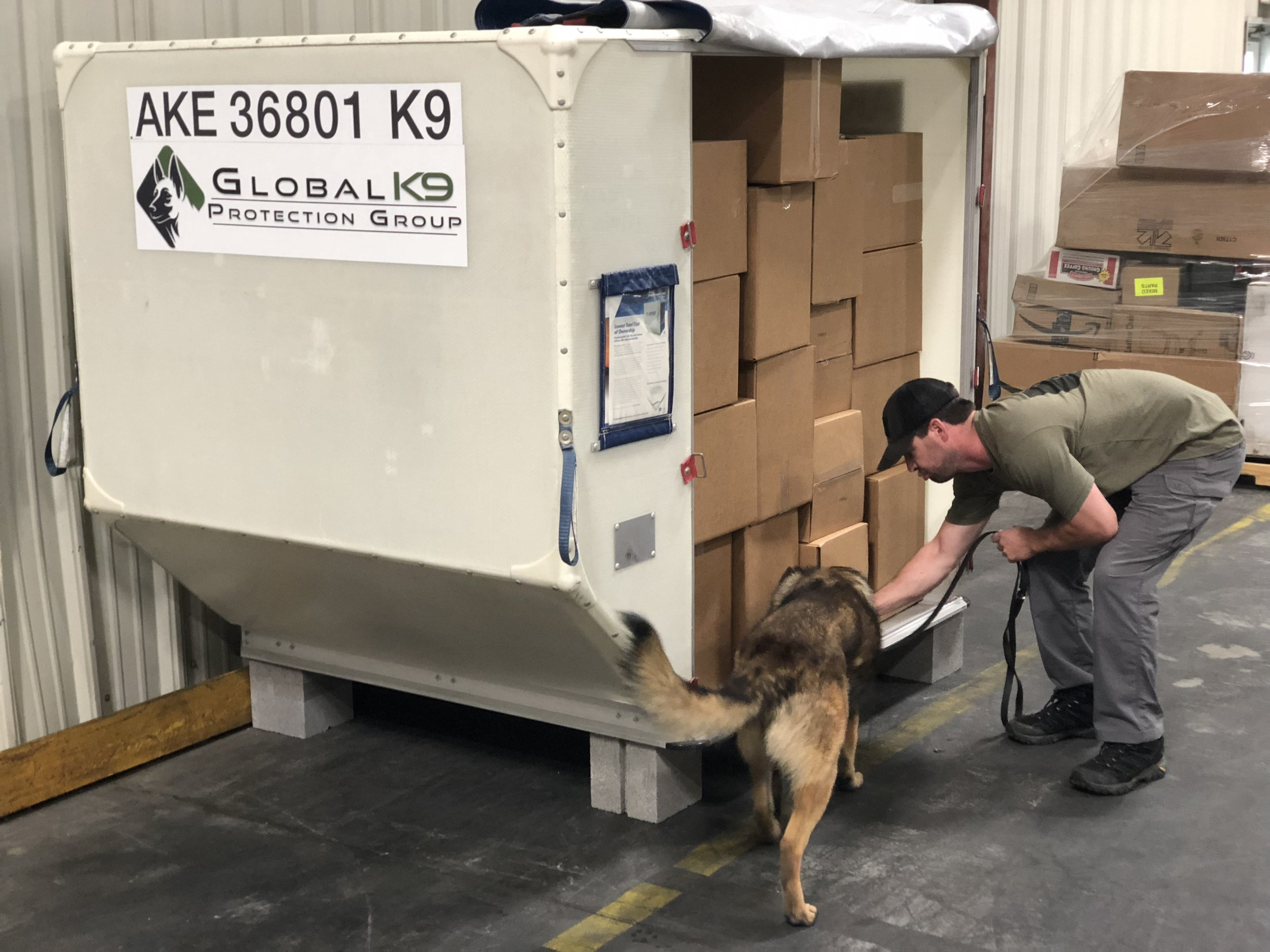 Third Party Cargo Screening Canines