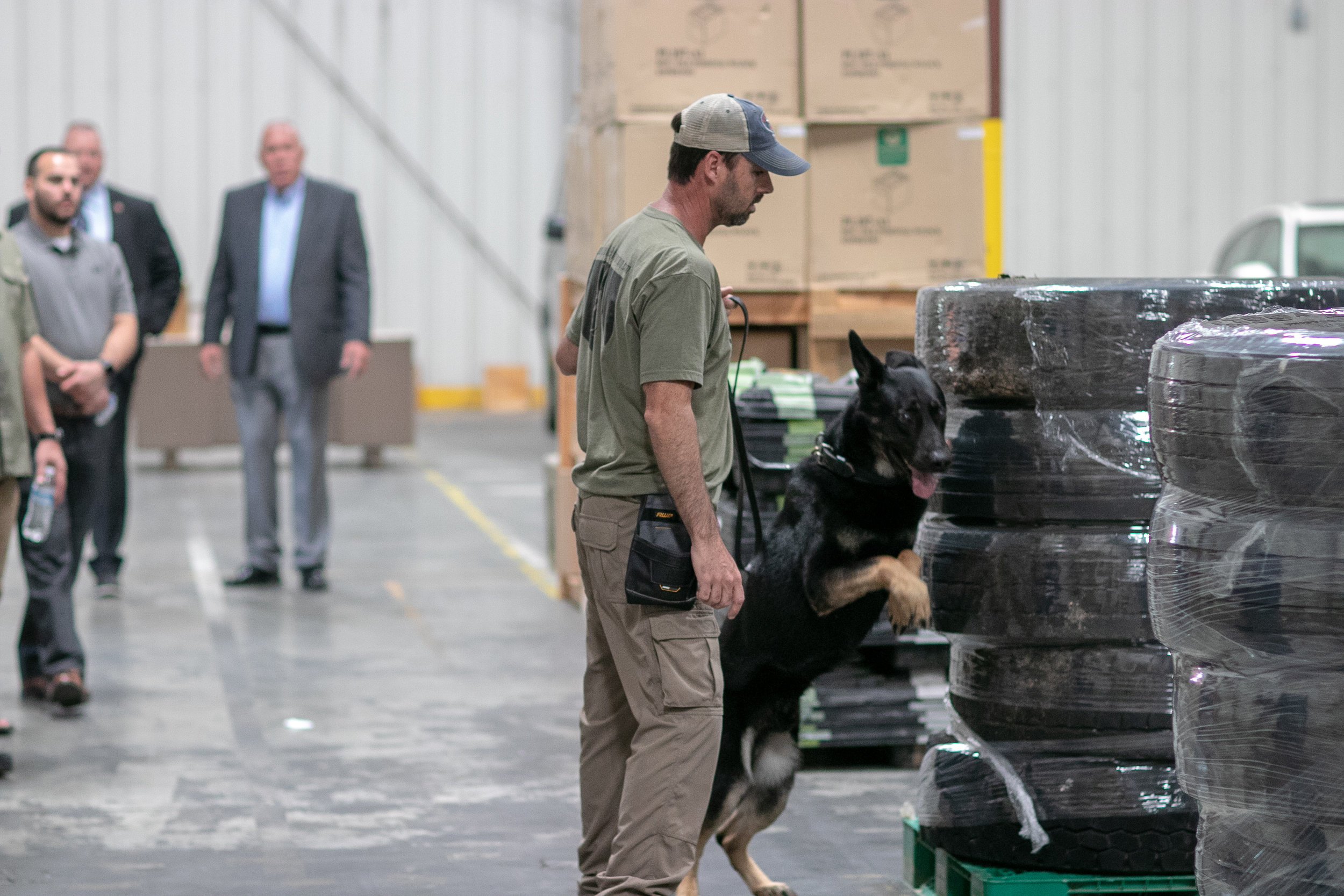 Third Party Canine Cargo Screening