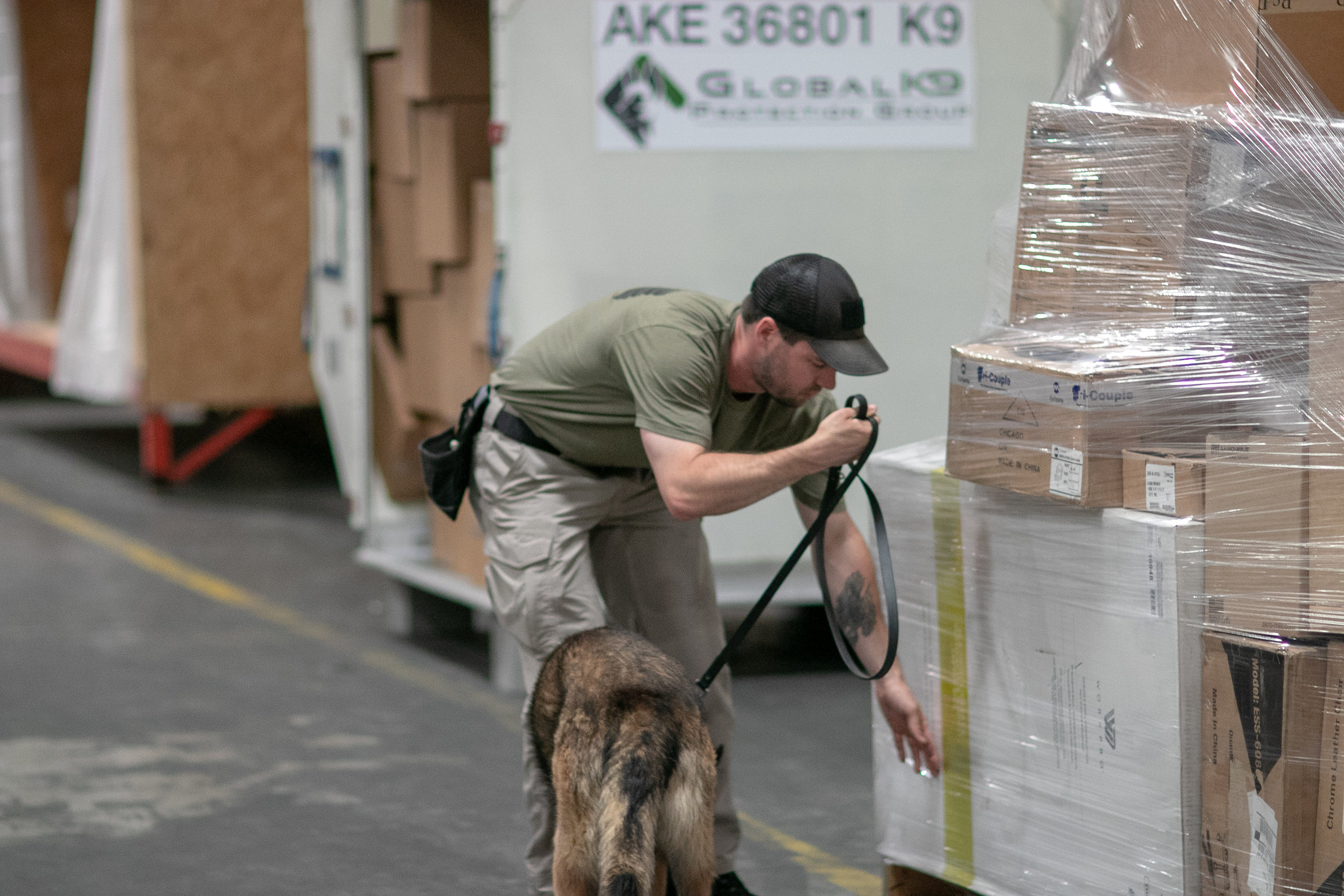 GK9PG Third Party Canine Cargo Screening