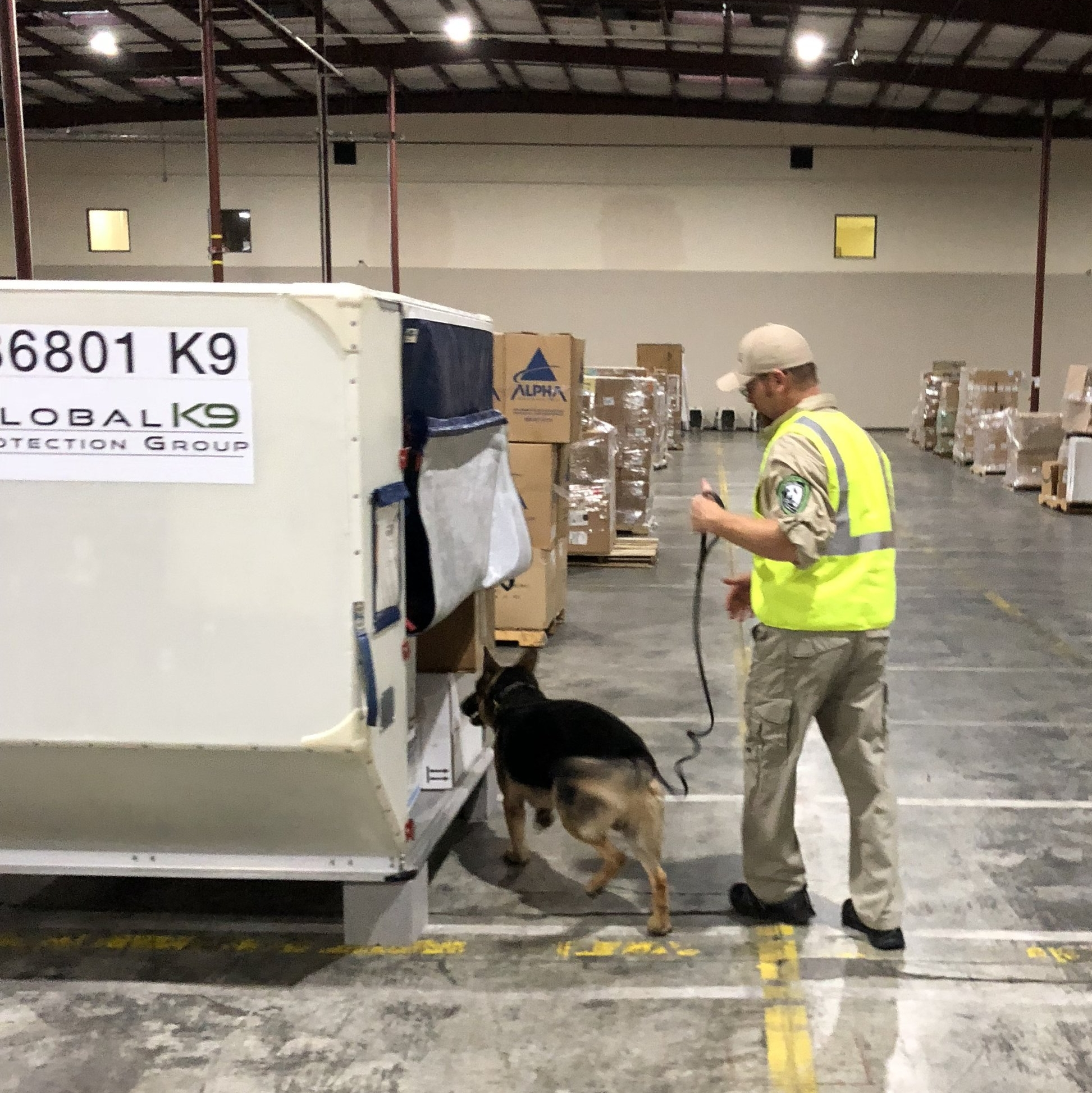 Read about how  Third Party Canine will alter Cargo Screening .