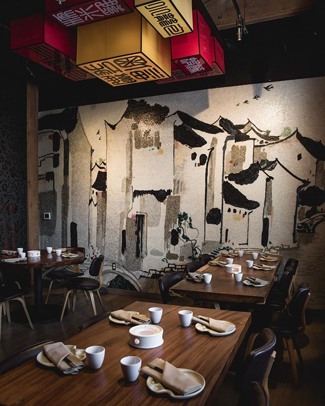 Ask to sit by our mosaic wall for a beautiful back drop to go with your dim sum! Painstakingly assembled by hand, resembling China's river villages - - - 900 N Point St, San Francisco, CA 94109 - - - Tag us your dim sum spread! #paletteteahouse