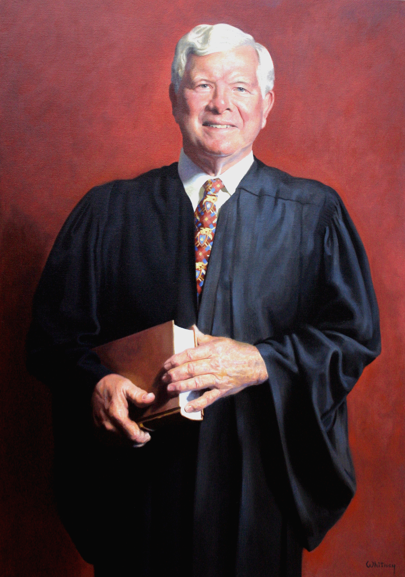 Chief Justice David Brock, NH Supreme Court, by Richard Whitney