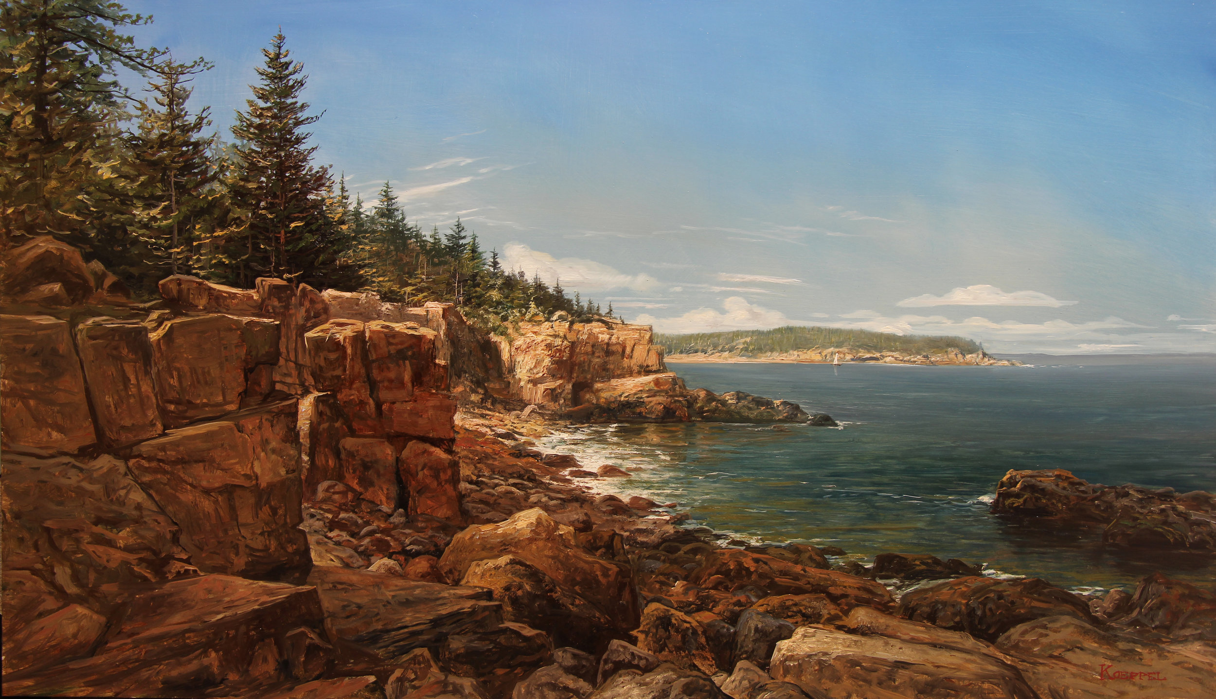 The Maine Coast, Mt. Desert