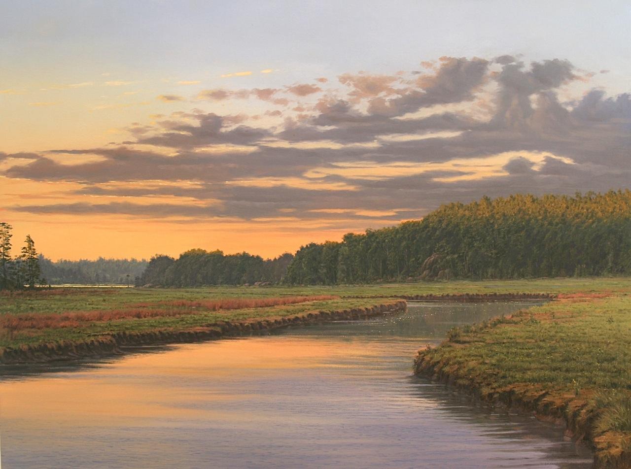 Through the Winding Marsh